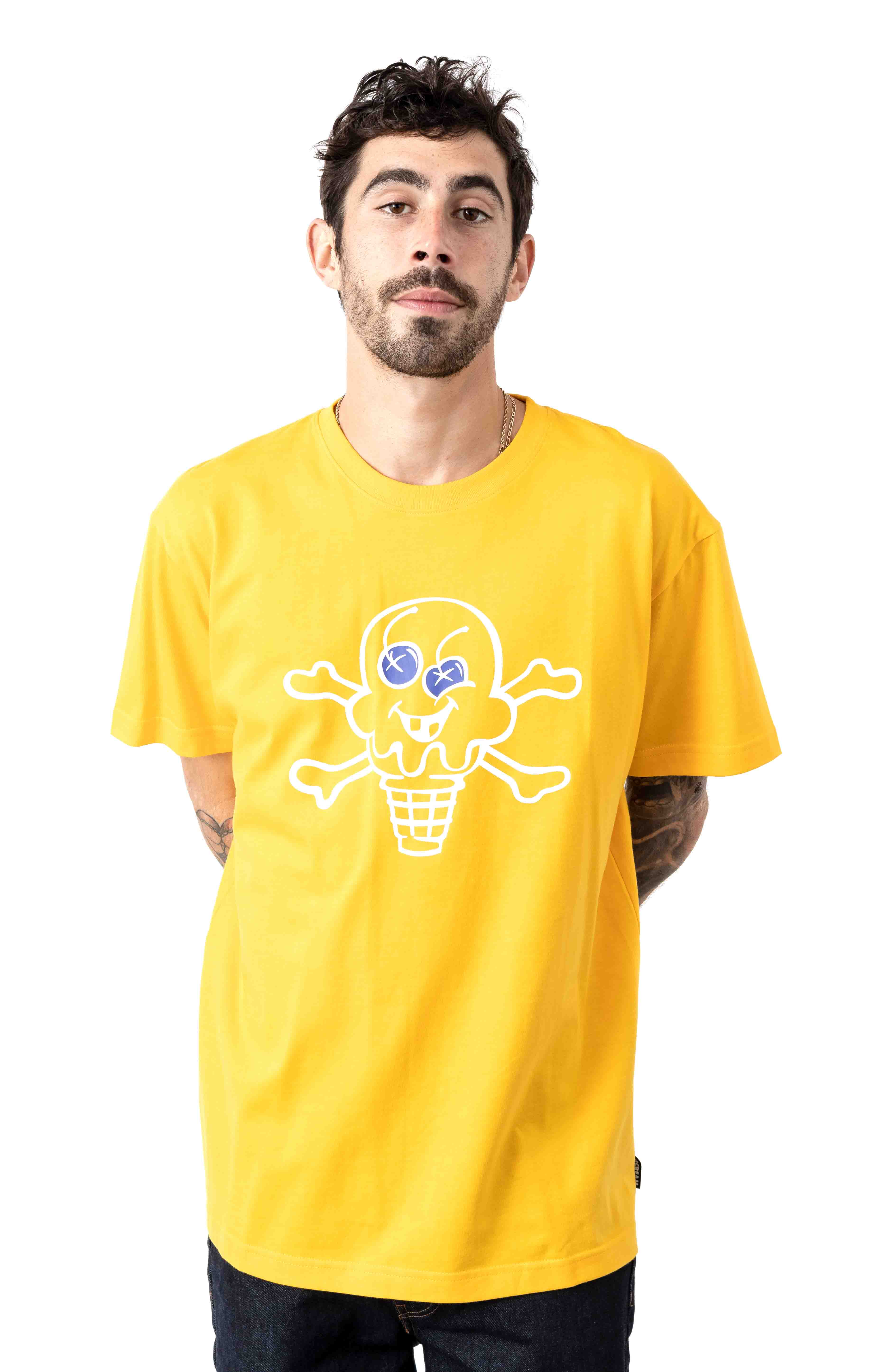 Cones And Bones T-Shirt - Spectra Yellow