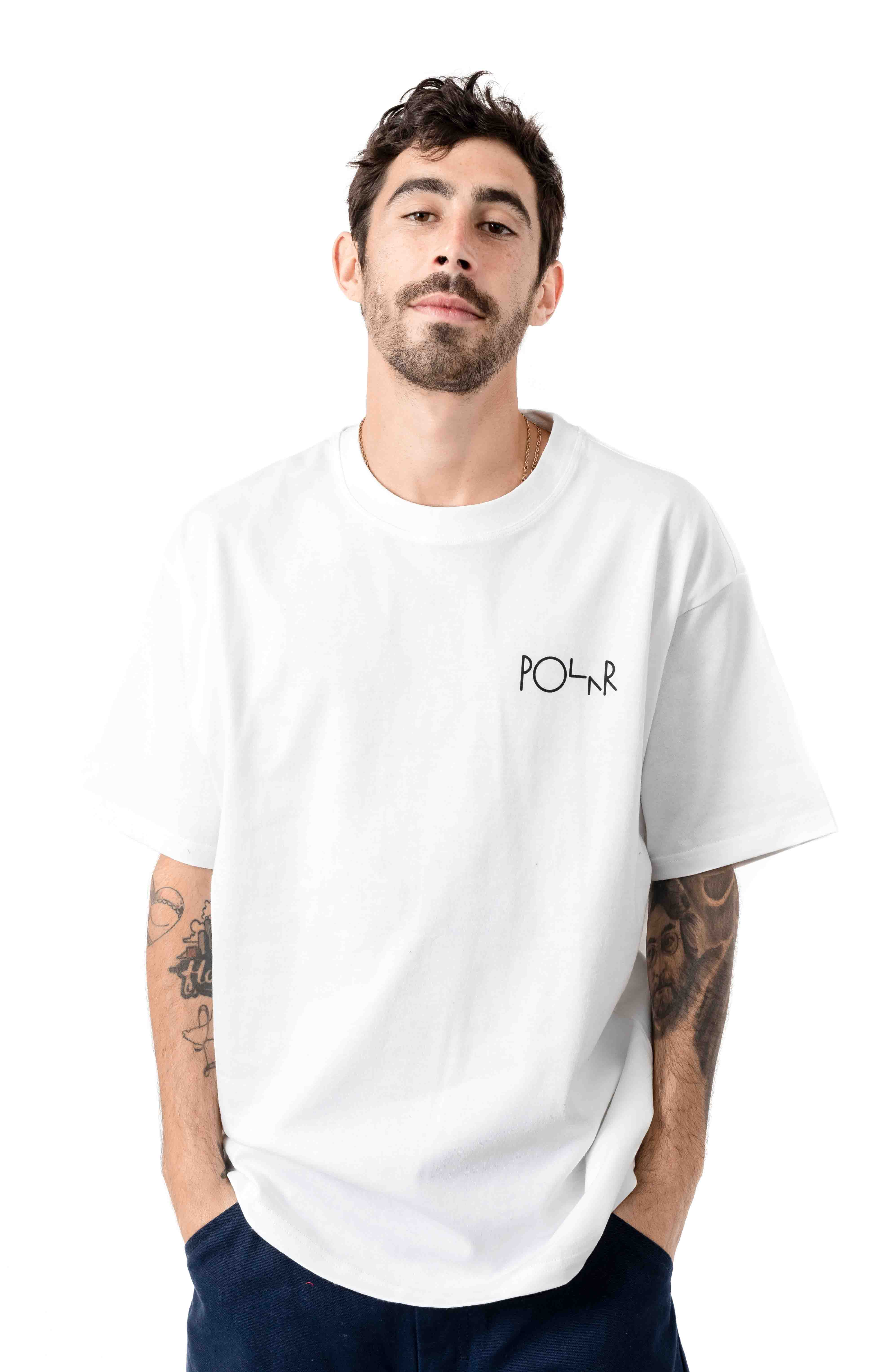 Garden Fill Logo T-Shirt - White  2