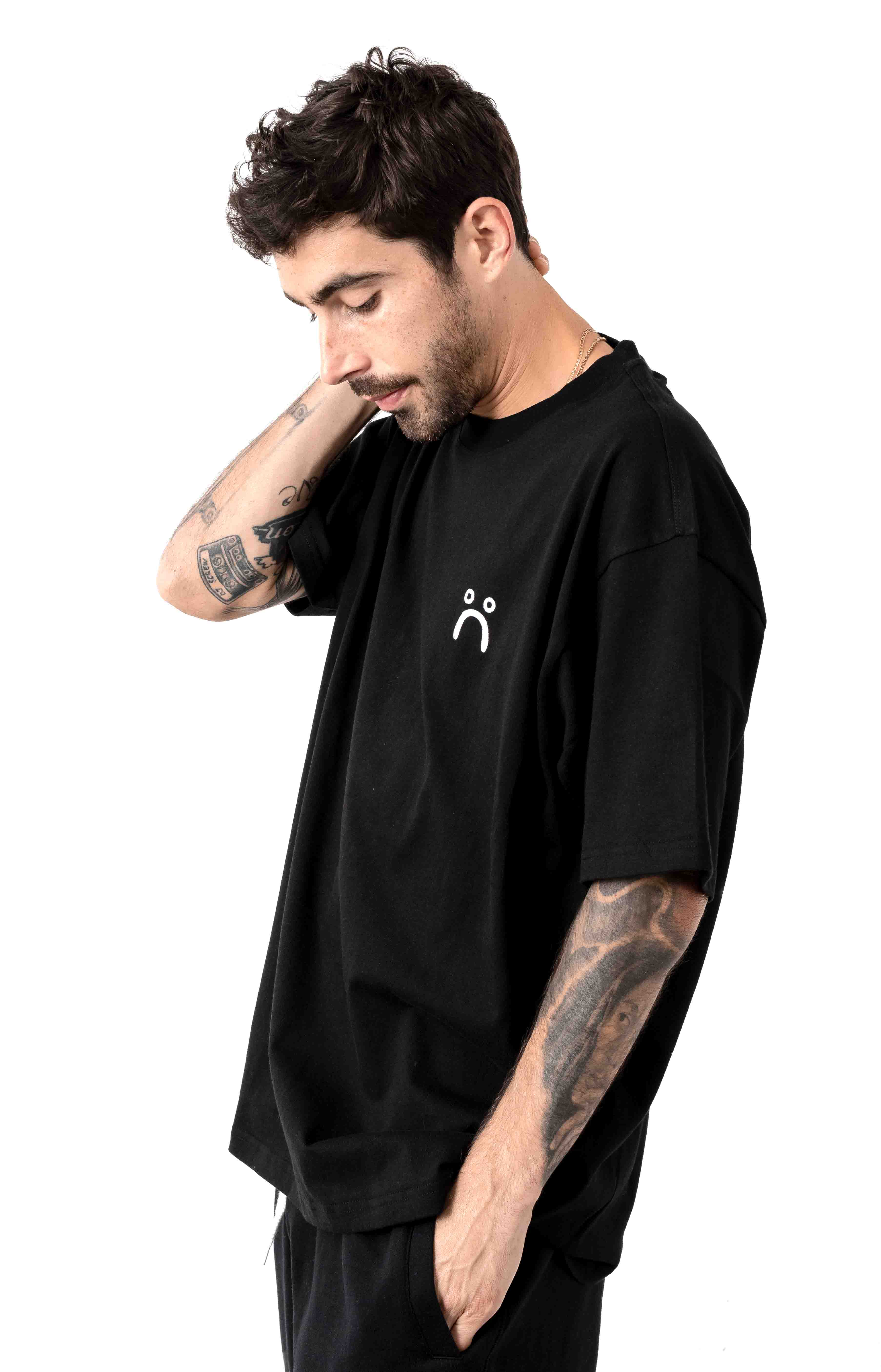 Sad T-Shirt - Black 2