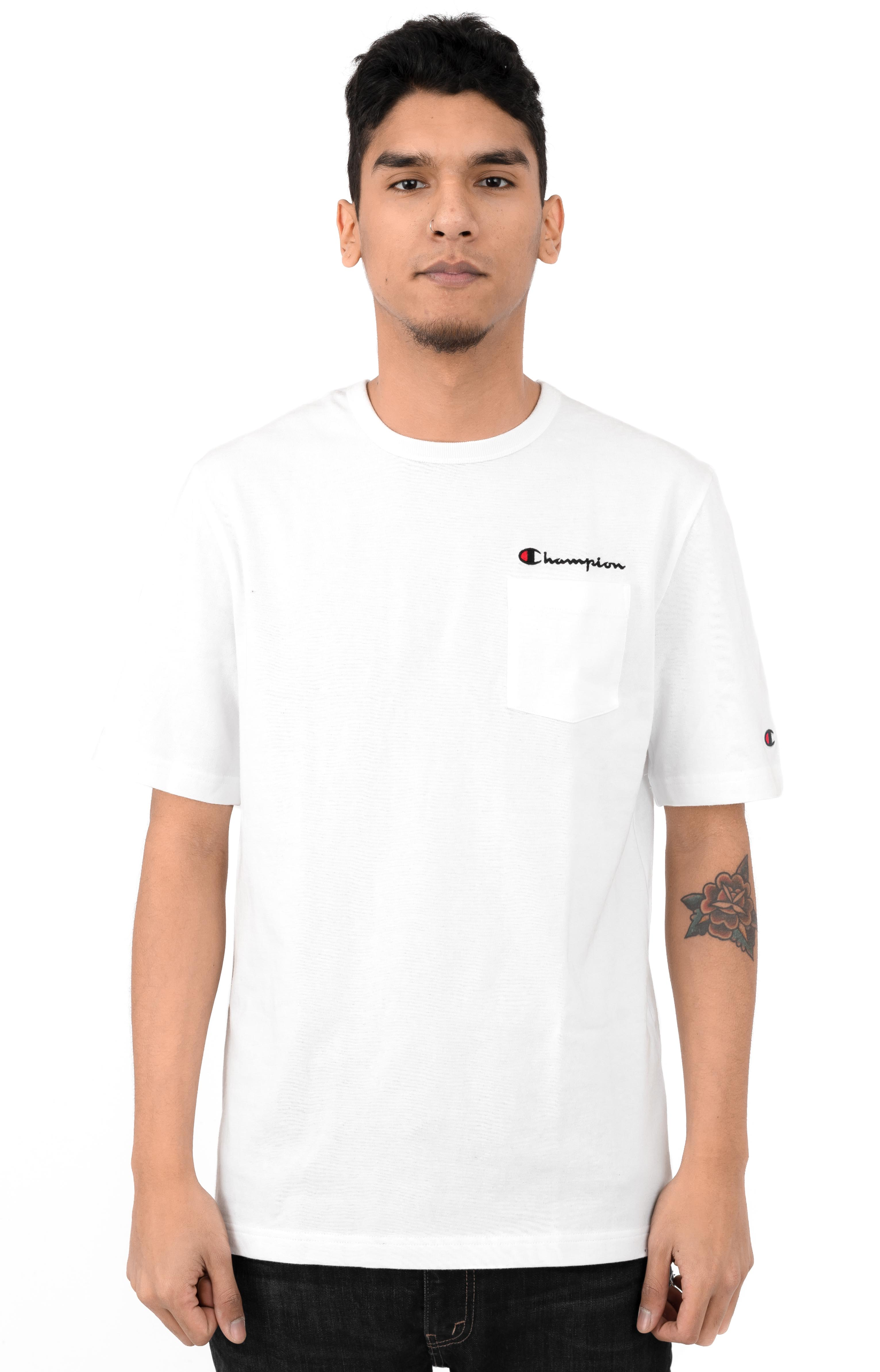 Heritage Pocket T-Shirt - White