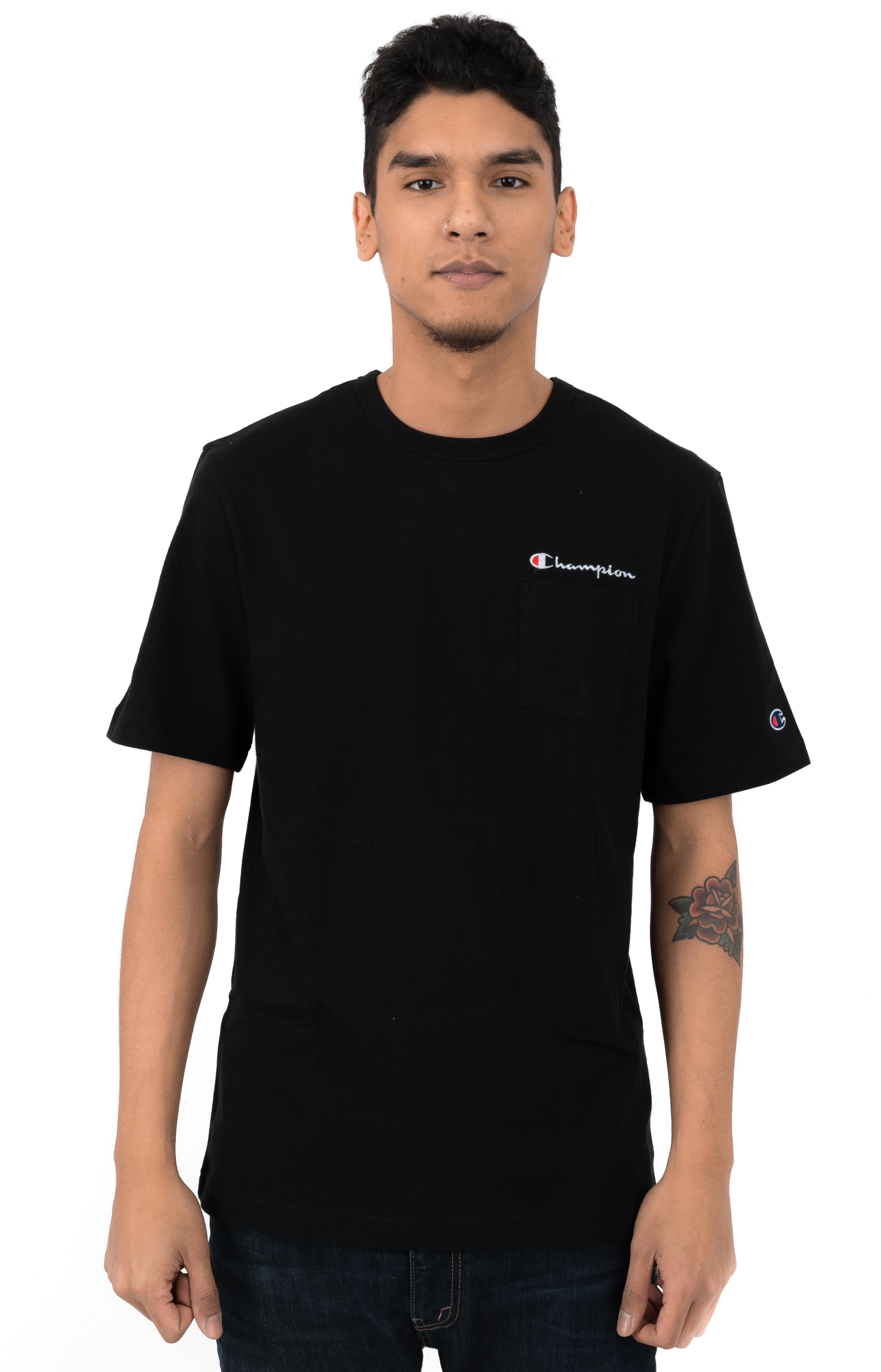 Heritage Pocket T-Shirt - Black