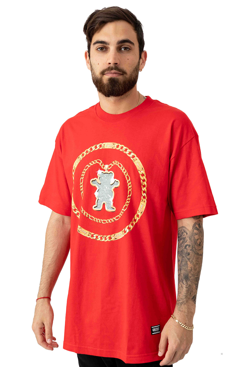 Chain T-Shirt - Red