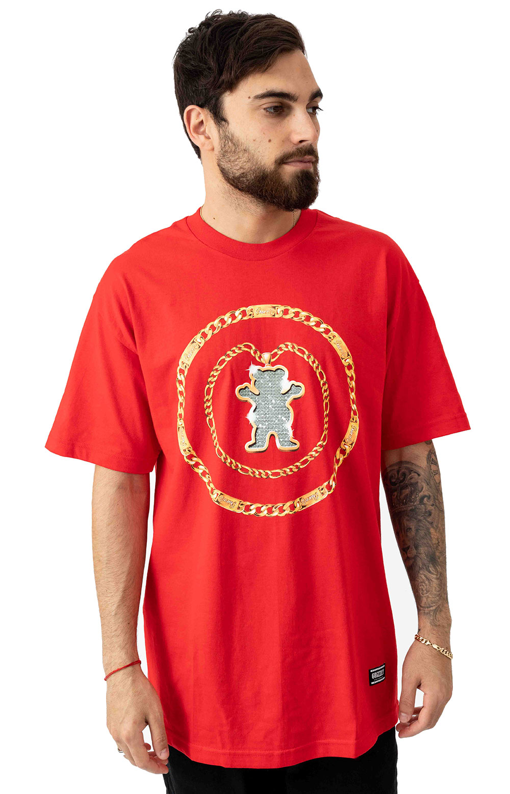 Chain T-Shirt - Red 2