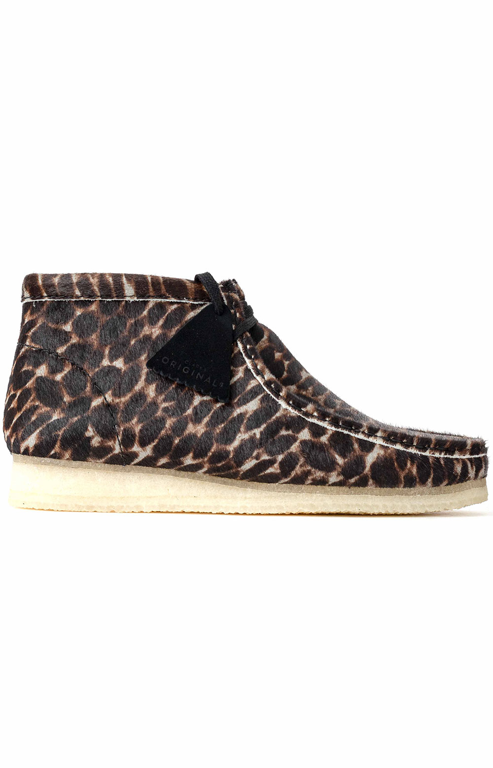 (26146759) Wallabee Boot - Black Animal Print