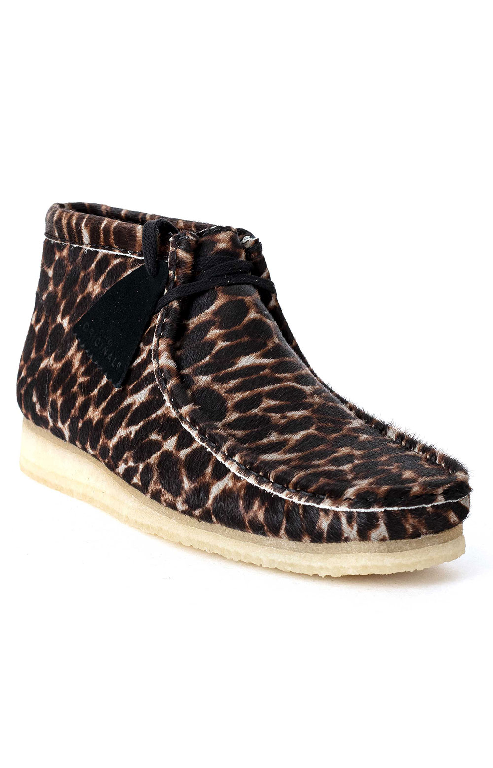 (26146759) Wallabee Boot - Black Animal Print 3