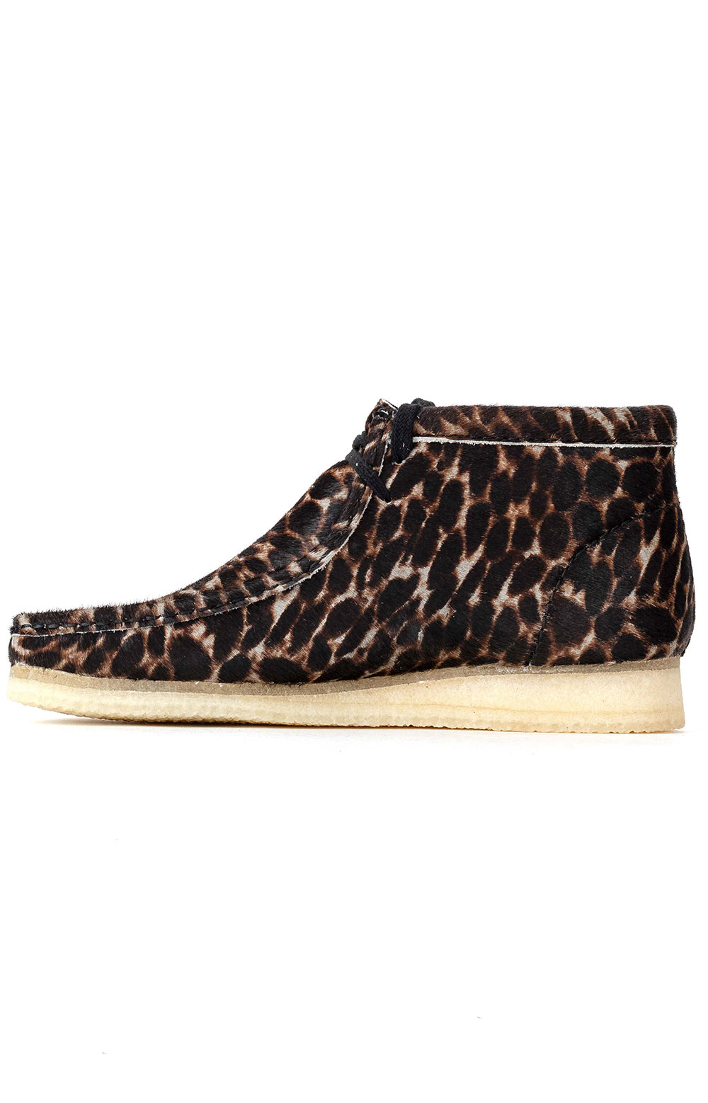 (26146759) Wallabee Boot - Black Animal Print 4