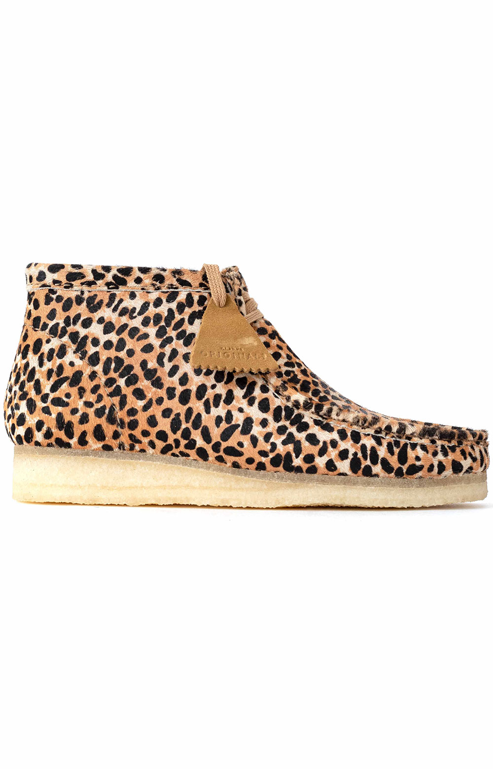 (26146756) Wallabee Boot - Brown Animal Print