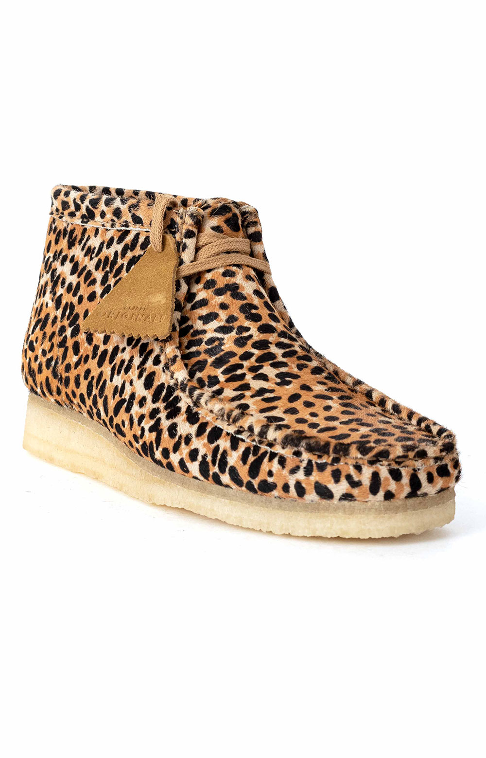 (26146756) Wallabee Boot - Brown Animal Print 3