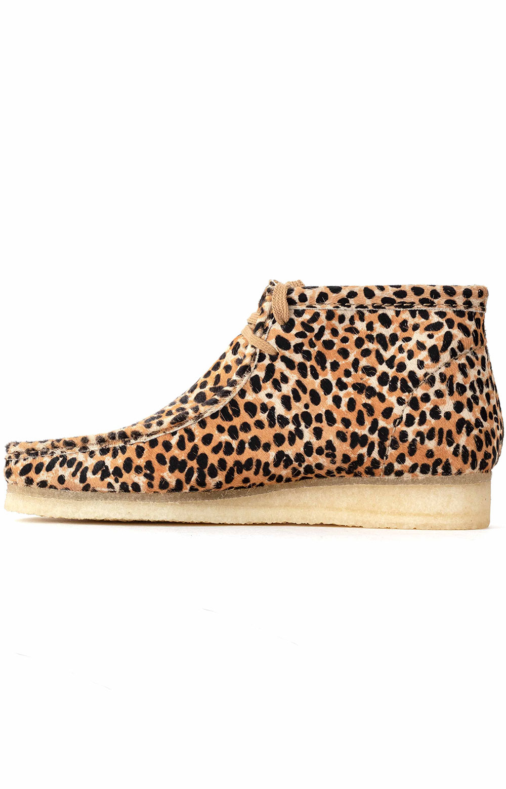 (26146756) Wallabee Boot - Brown Animal Print 4