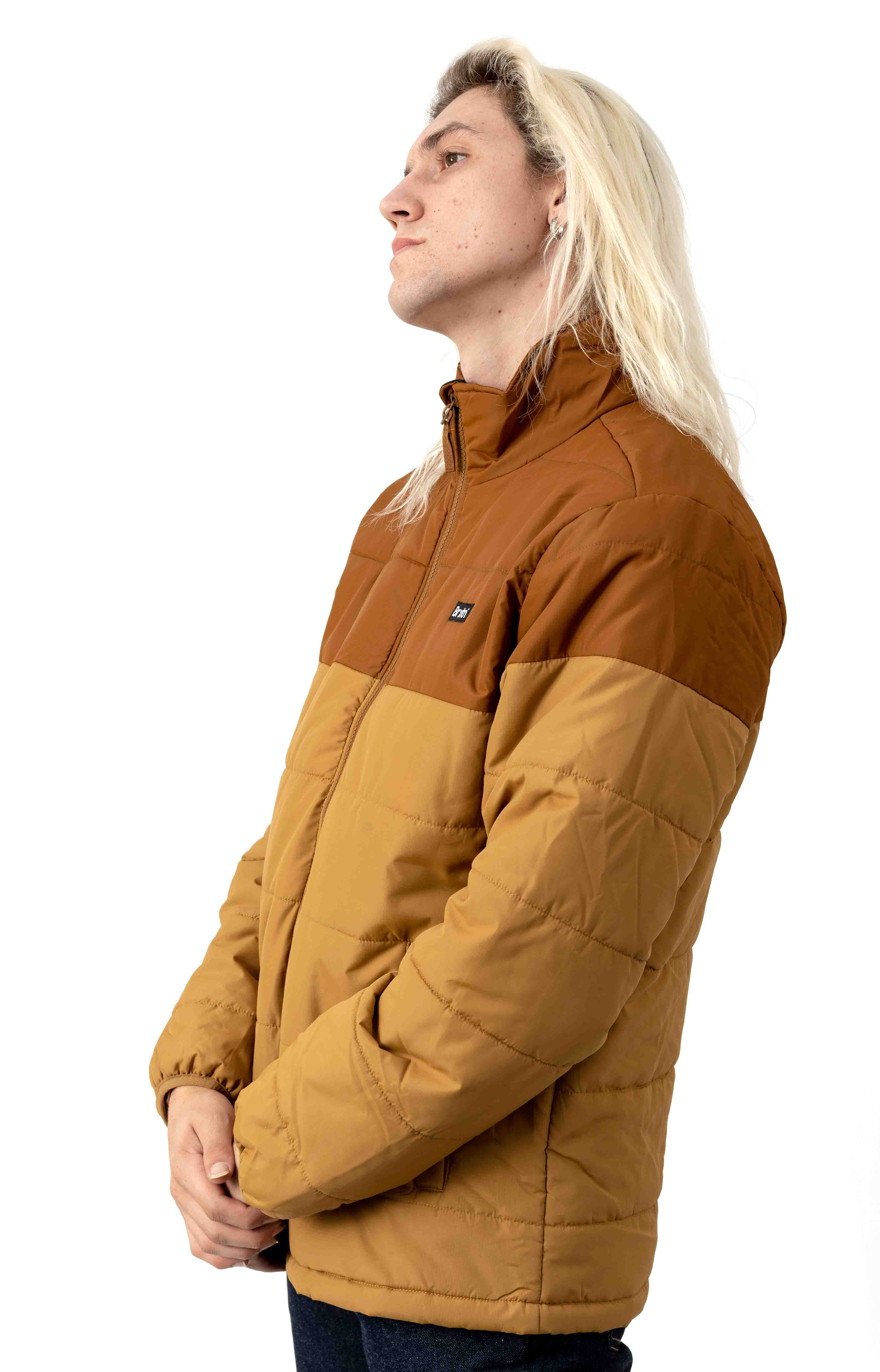 Cass Puffer Jacket - Cooper/Washed Cooper 2