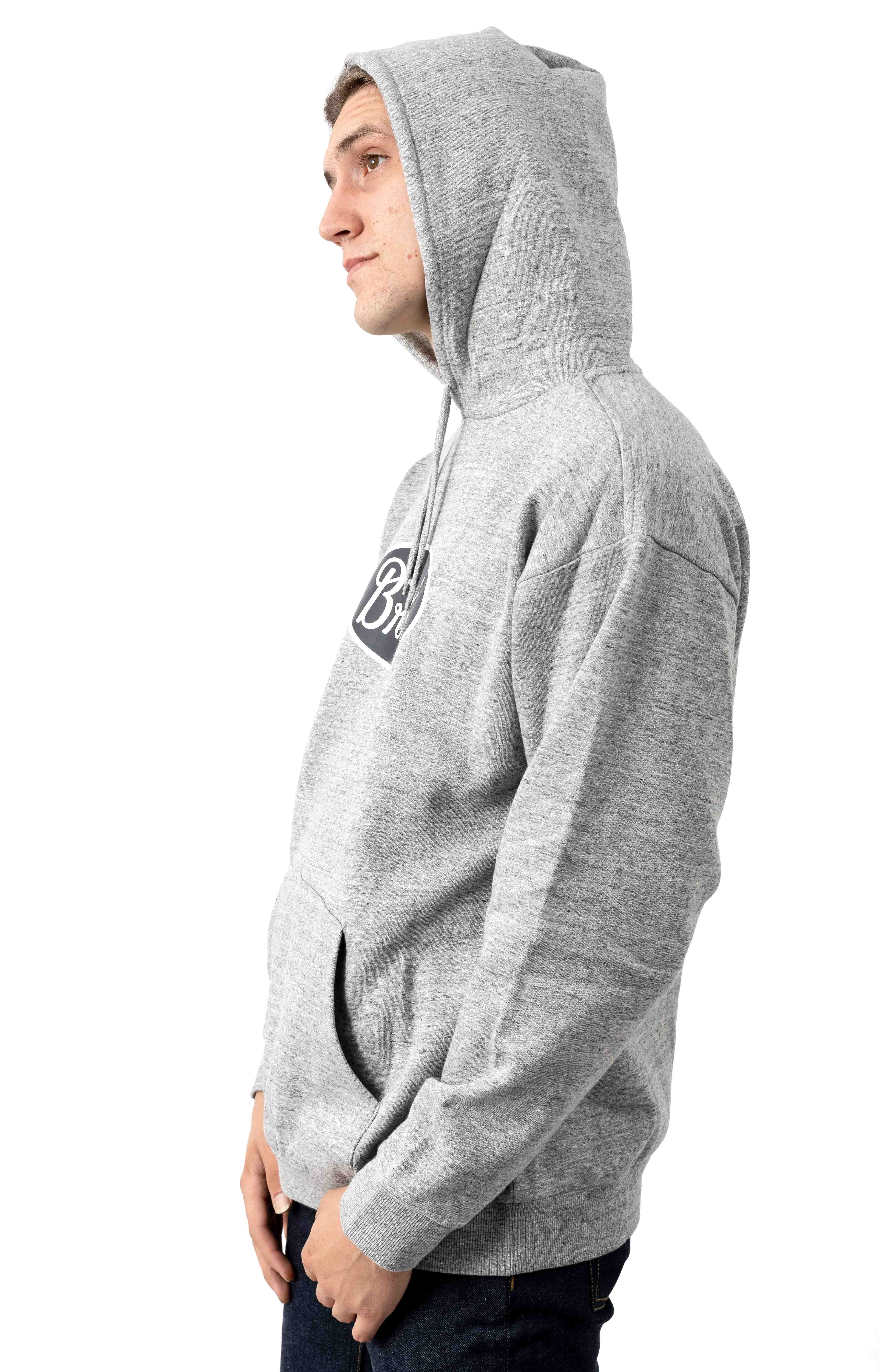 Parsons Pullover Hoodie - Heather Grey 2