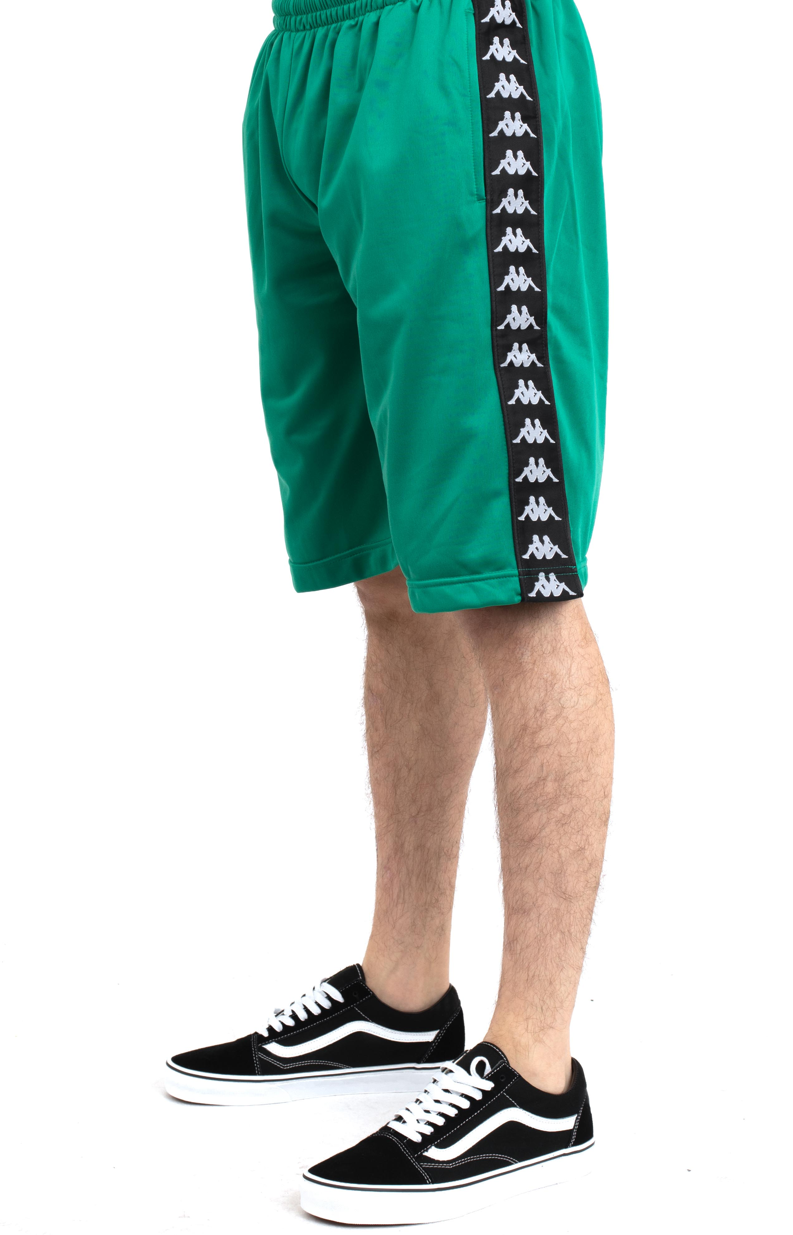 222 Banda Treadwellz Shorts - Green/Black