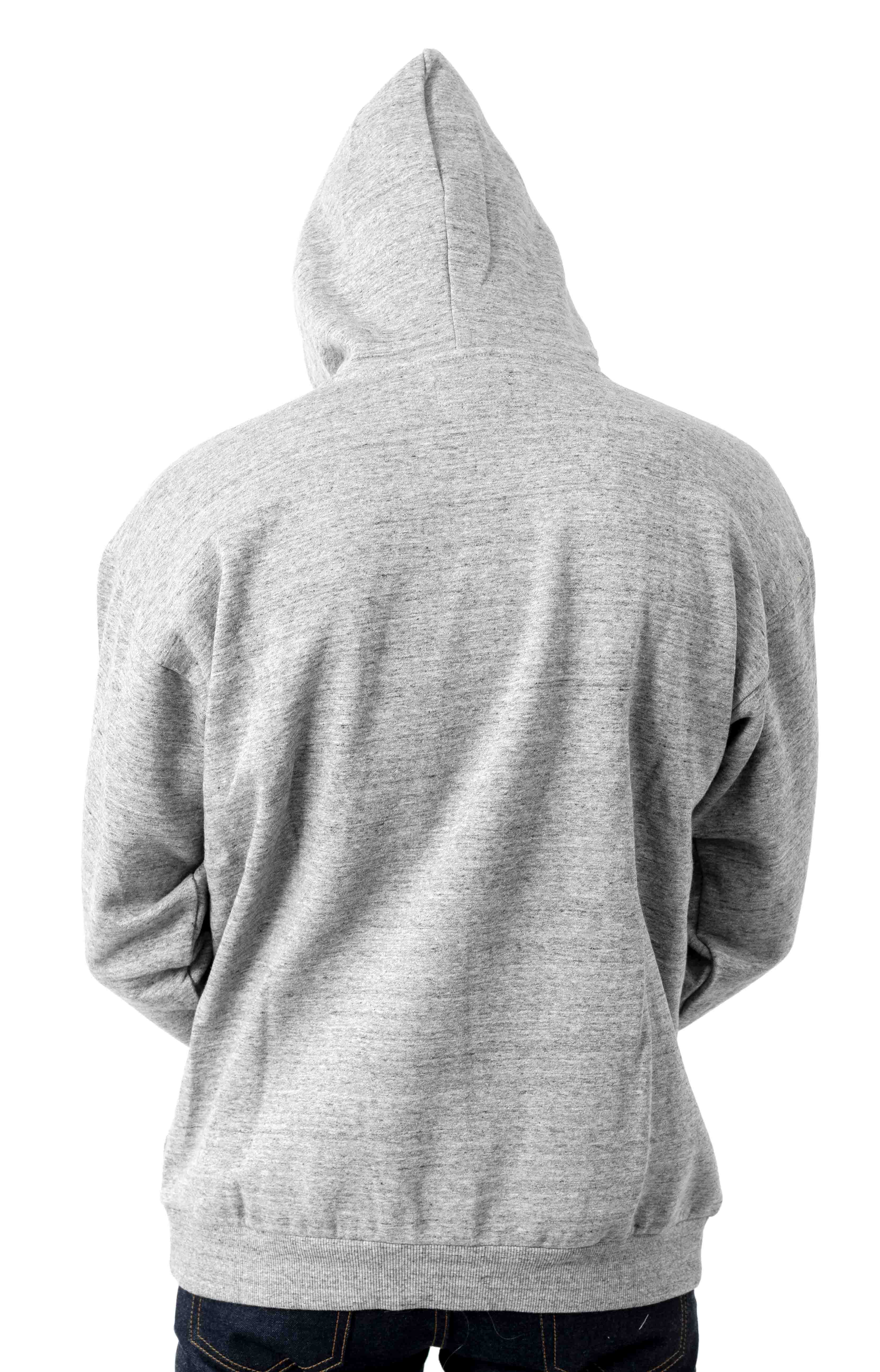 Parsons Pullover Hoodie - Heather Grey 3