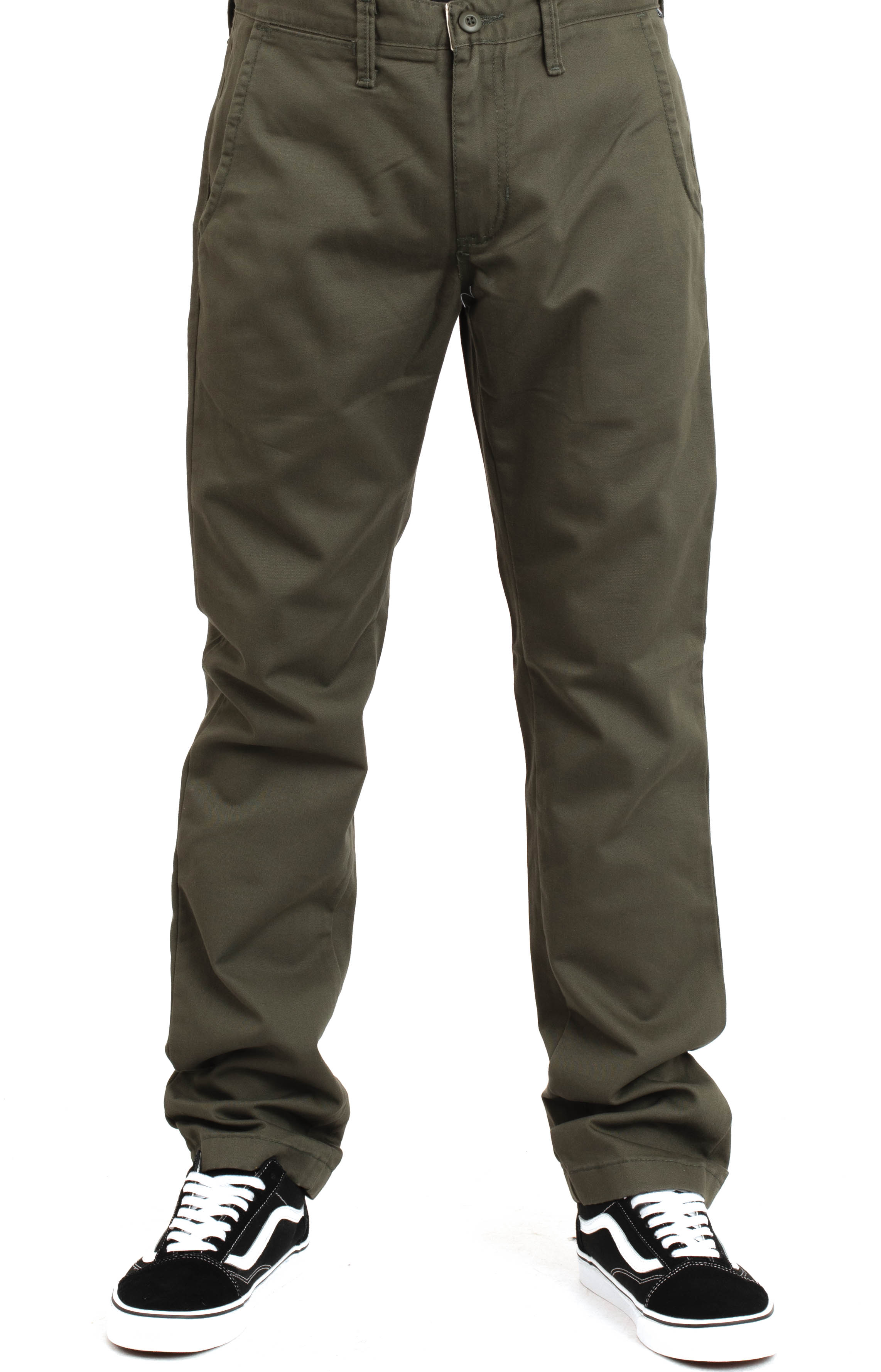 Authentic Chino Stretch Pant - Grape Leaf 2