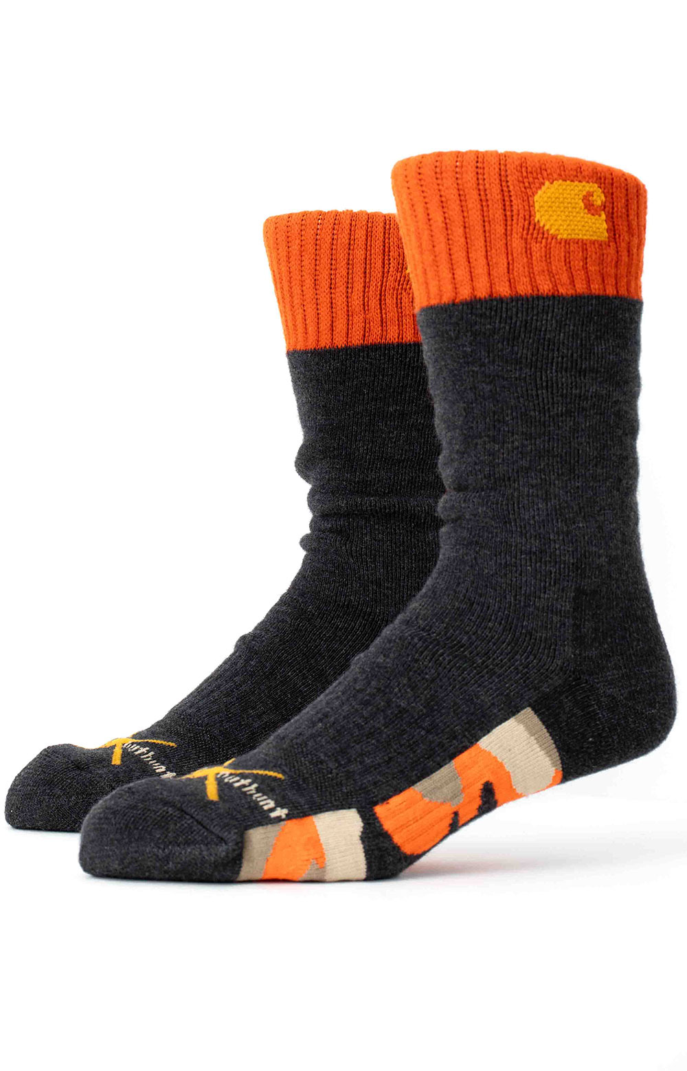 Outwork X Outhunt Crew Sock - Orange