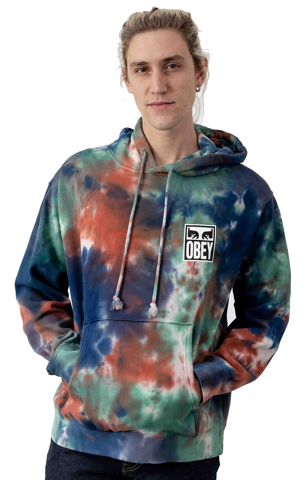 Obey Eyes Icon Pullover Hoodie - Iris Blotch