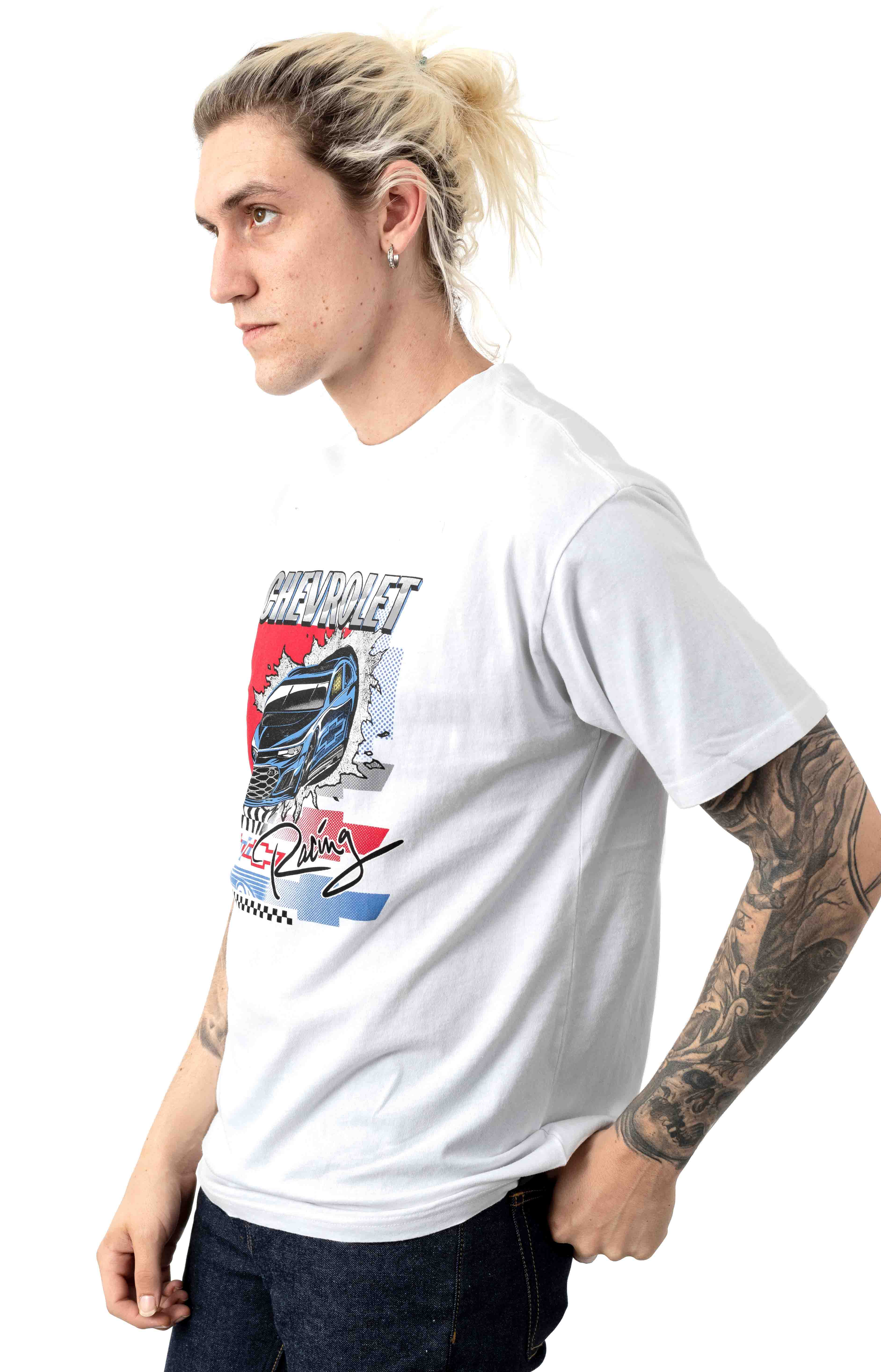 Super Sport T-Shirt - El Camino White 2