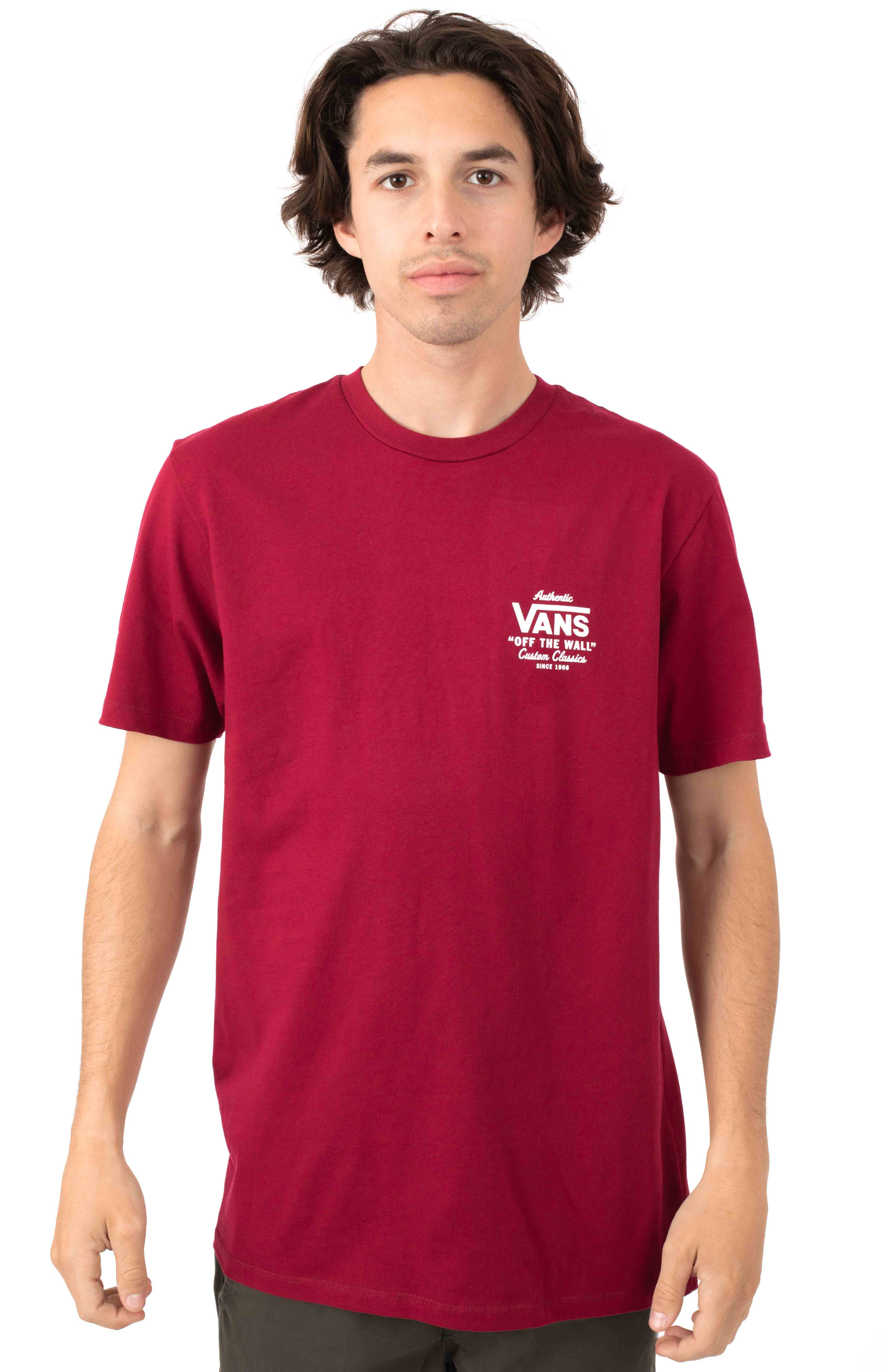 Holder Street II T-Shirt - Rhumba Red
