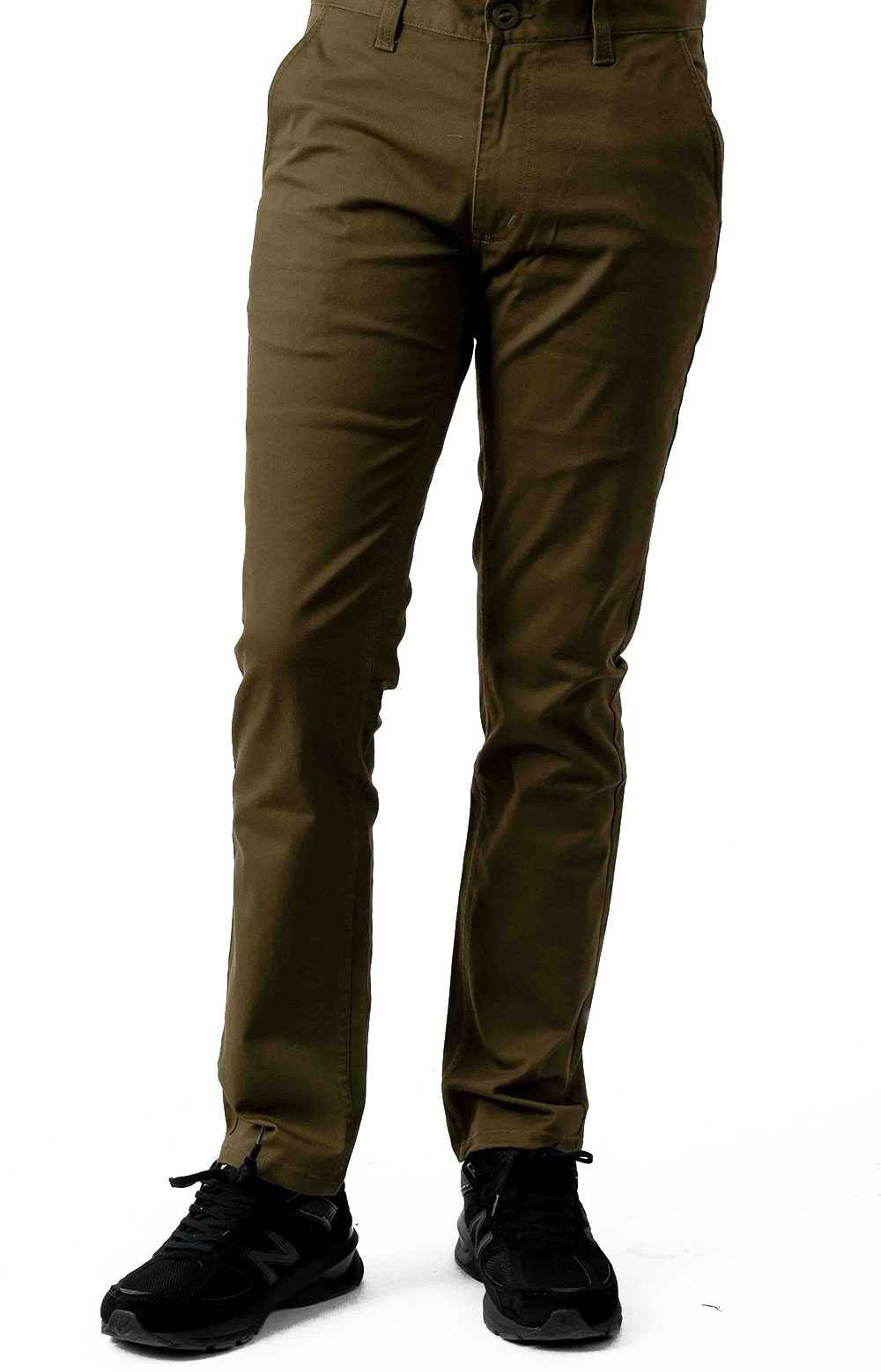 Reserve Chino Pants - Olive 2
