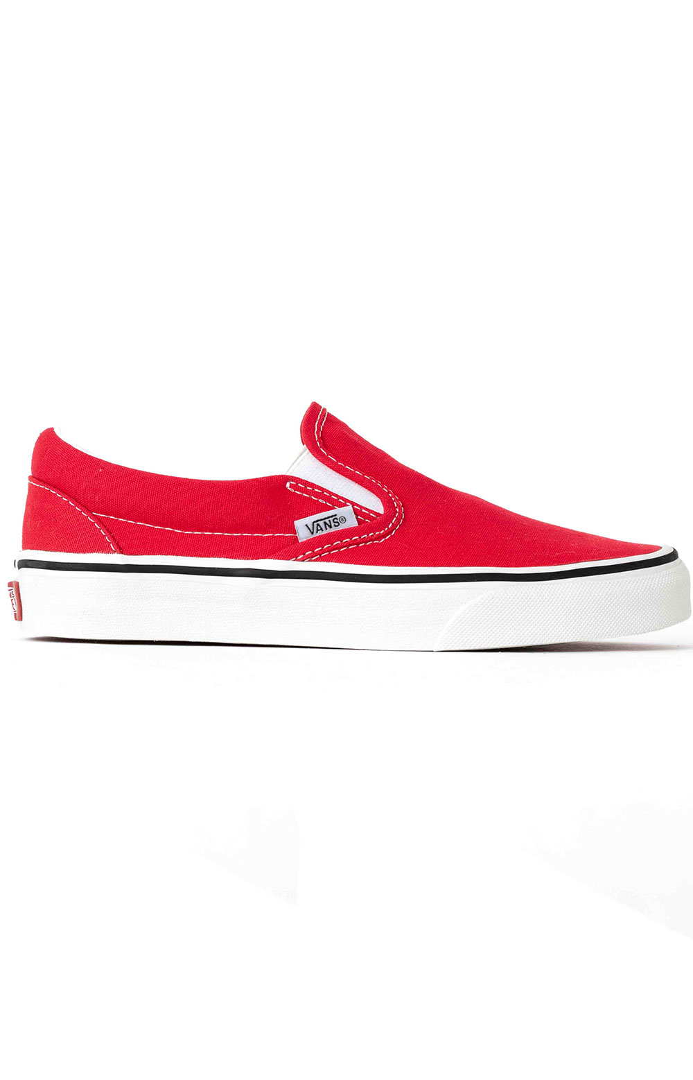 (BV3JV6) Classic Slip-On Shoe - Racing Red
