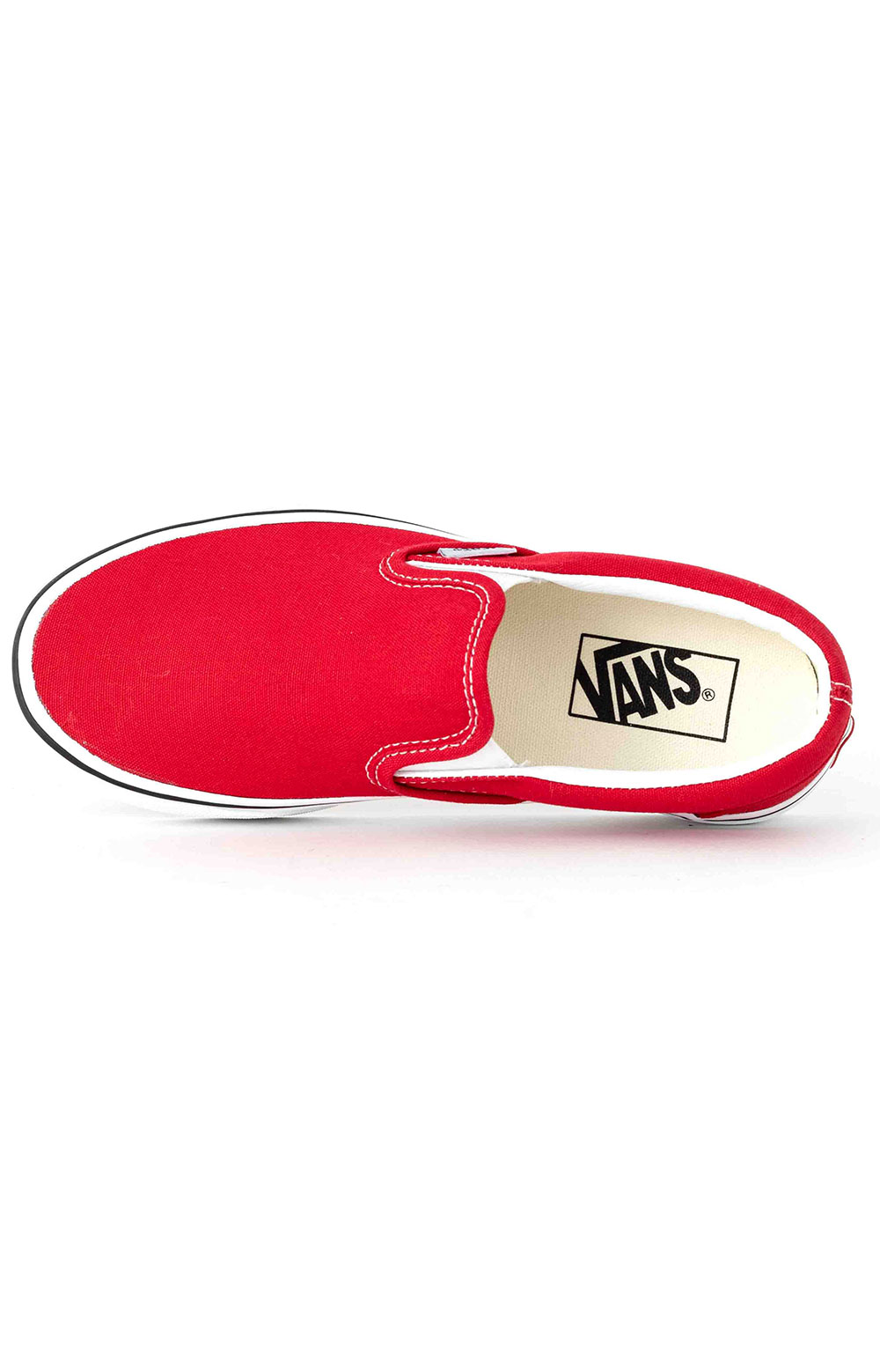 (BV3JV6) Classic Slip-On Shoe - Racing Red 2