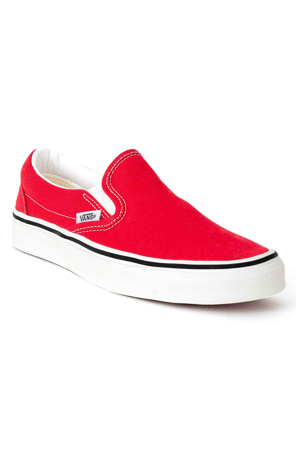 (BV3JV6) Classic Slip-On Shoe - Racing Red 3