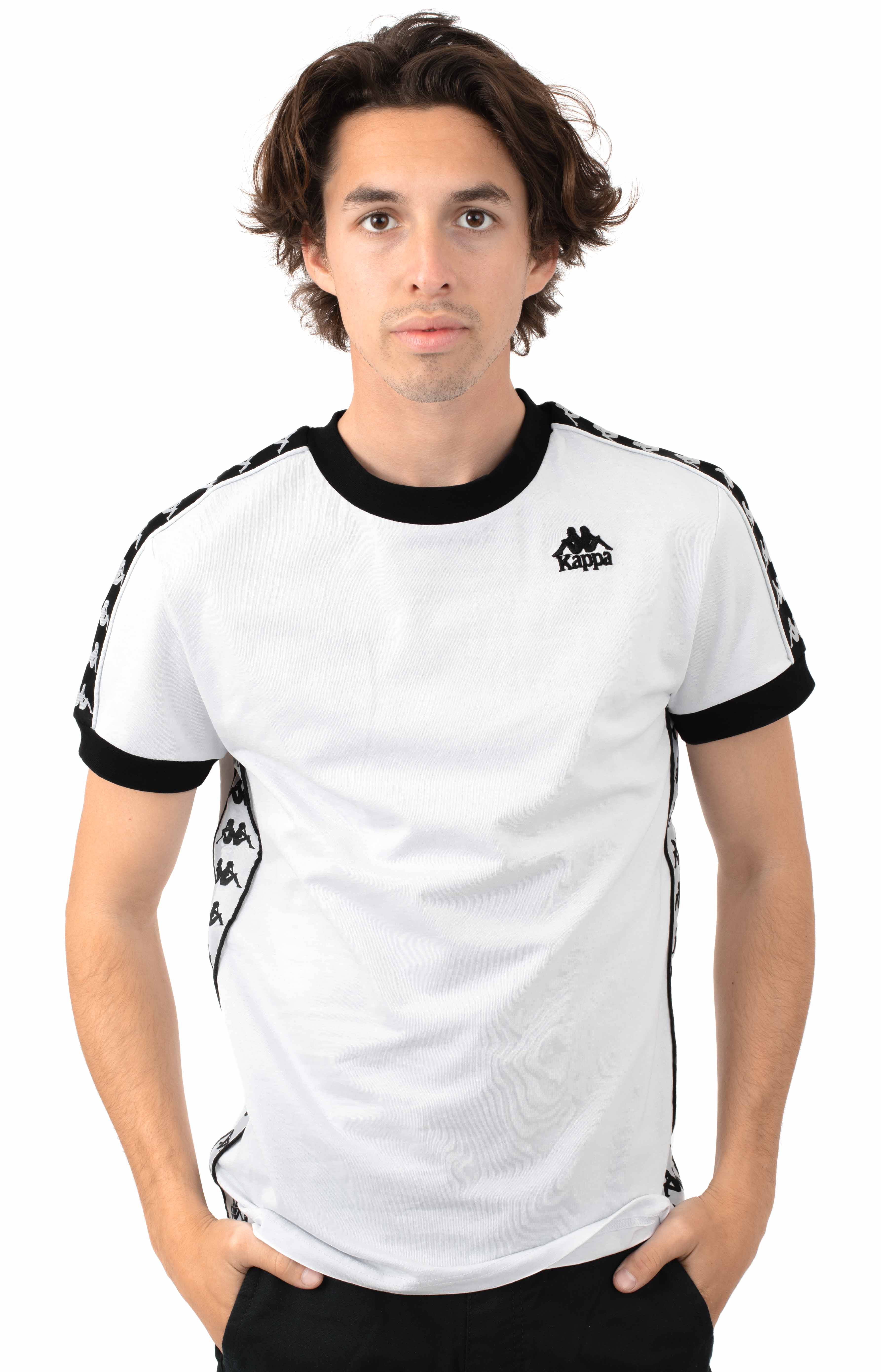 222 Banda Bismal T-Shirt - White/Black