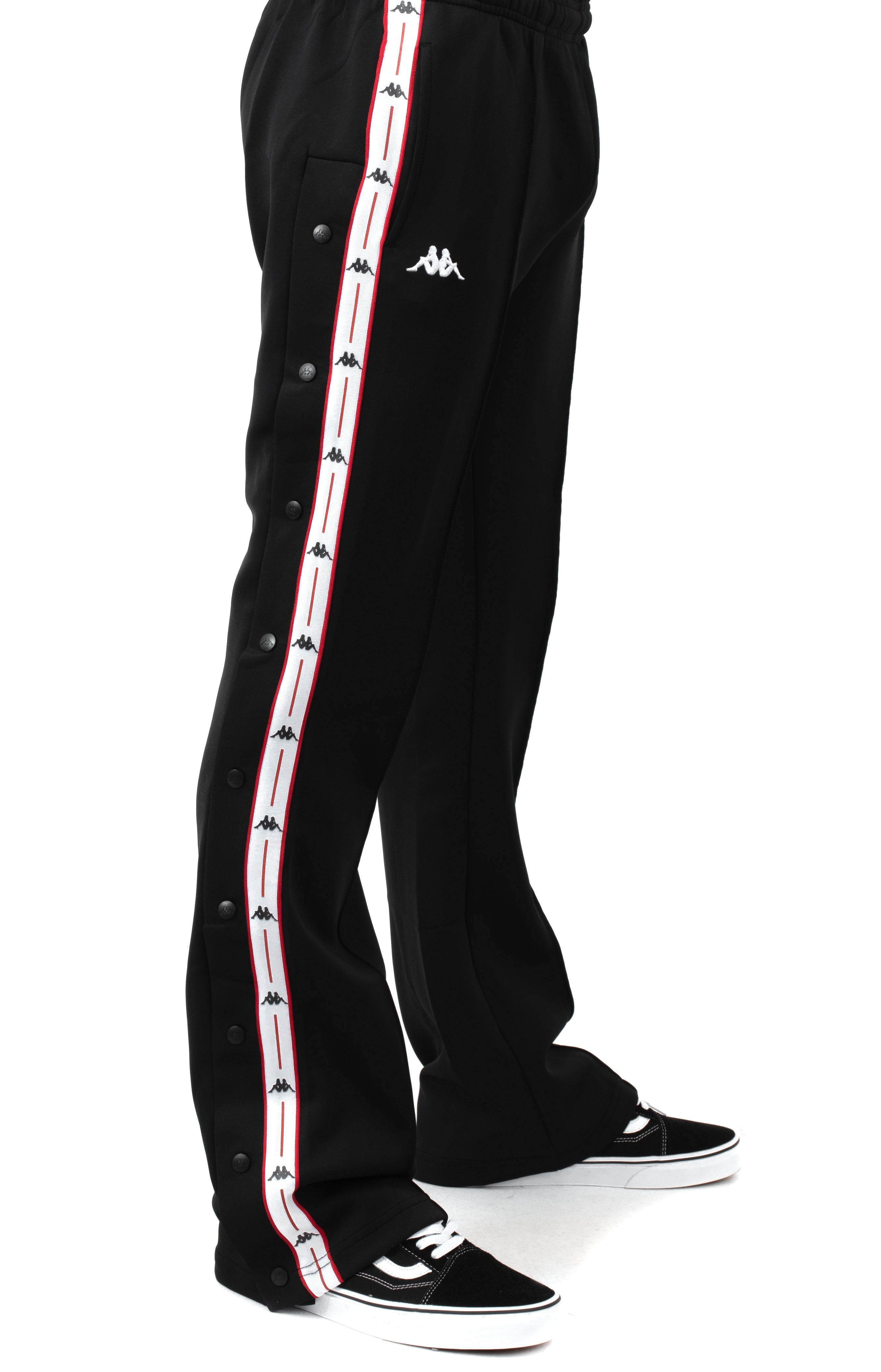 Authentic Jpn Banity Snap Pants - Black/White/Red