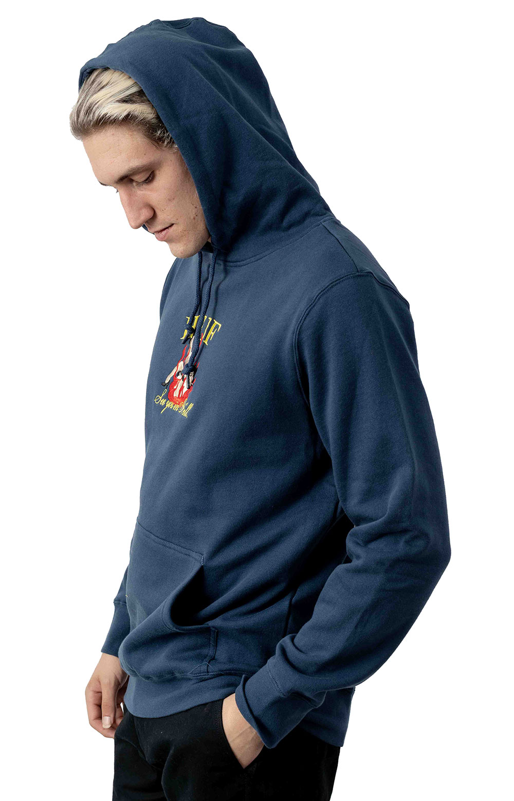 See You In Hell Pullover Hoodie - Insignia Blue 2