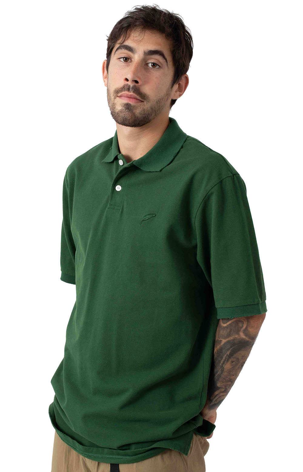 Ernis S/S Polo Shirt - Olive 2