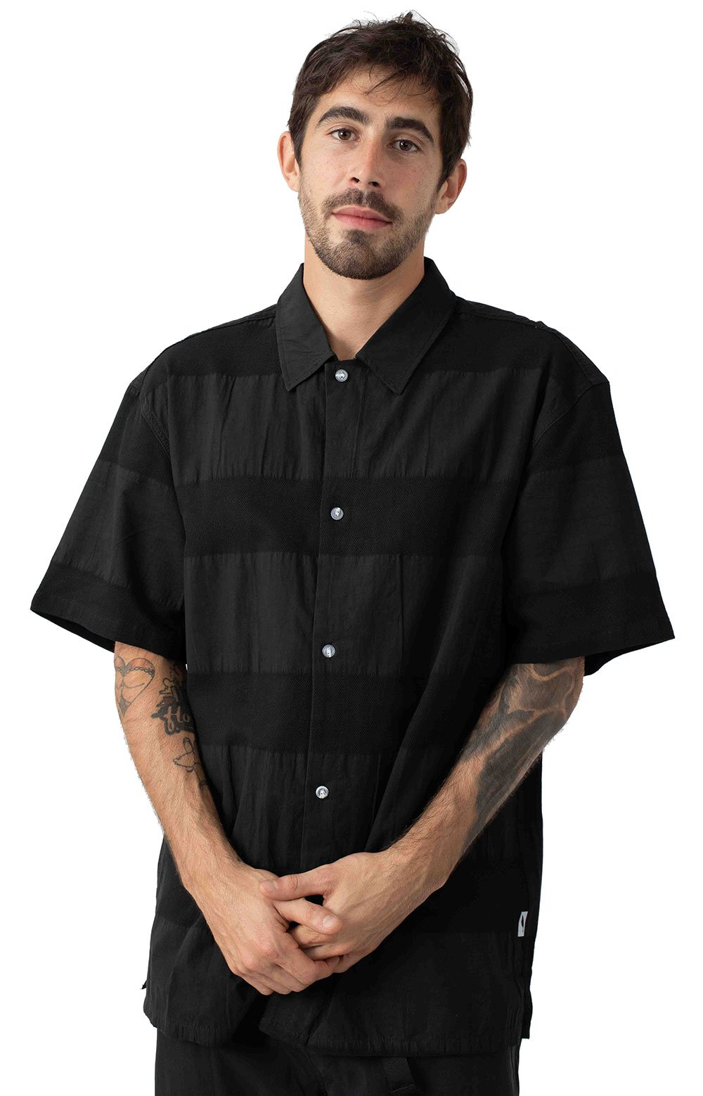 Publish 77296 Baz Button-Up Shirt - Black