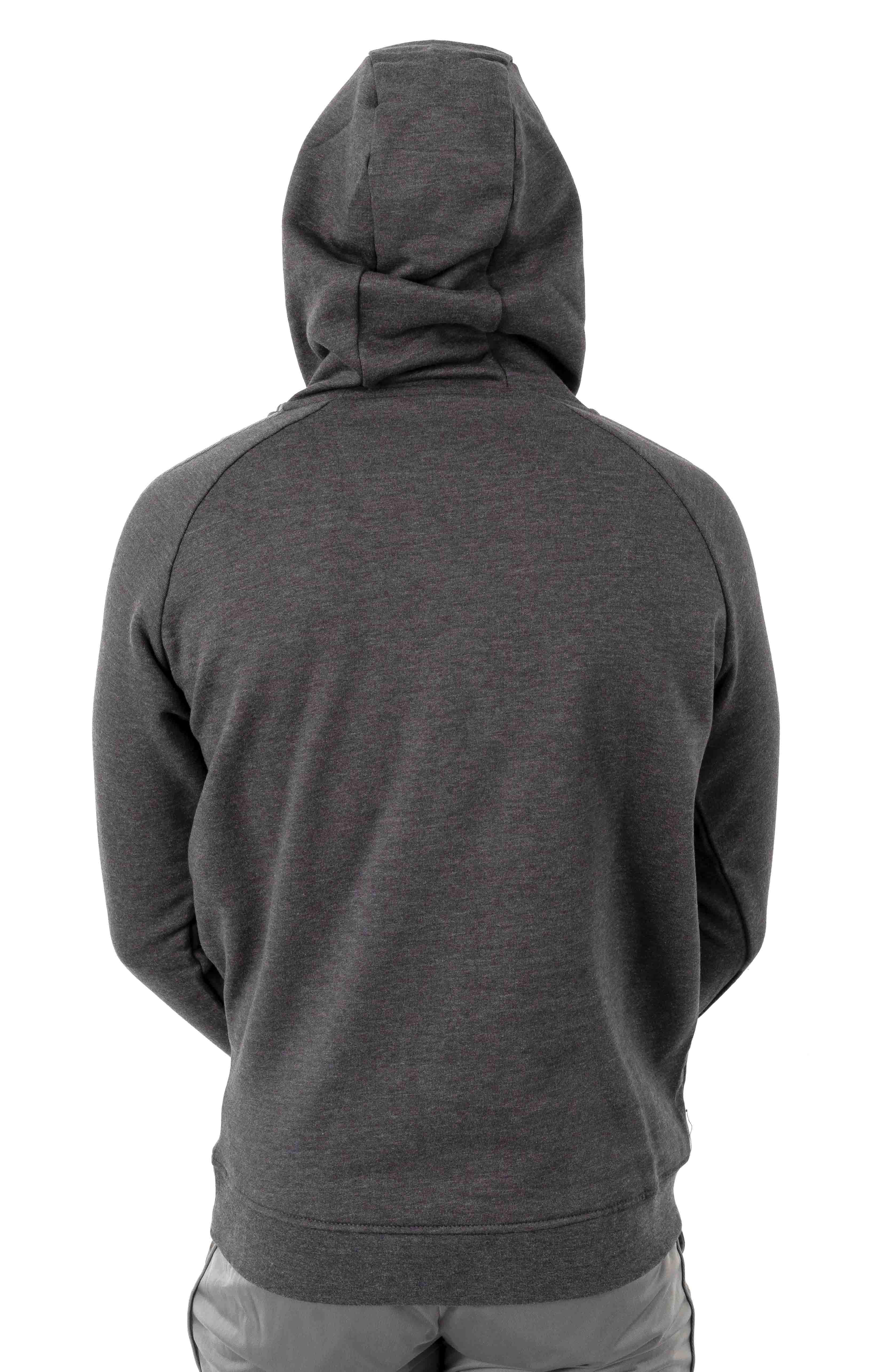 222 Banda Dinto Pullover Hoodie - Grey/Winter White  3