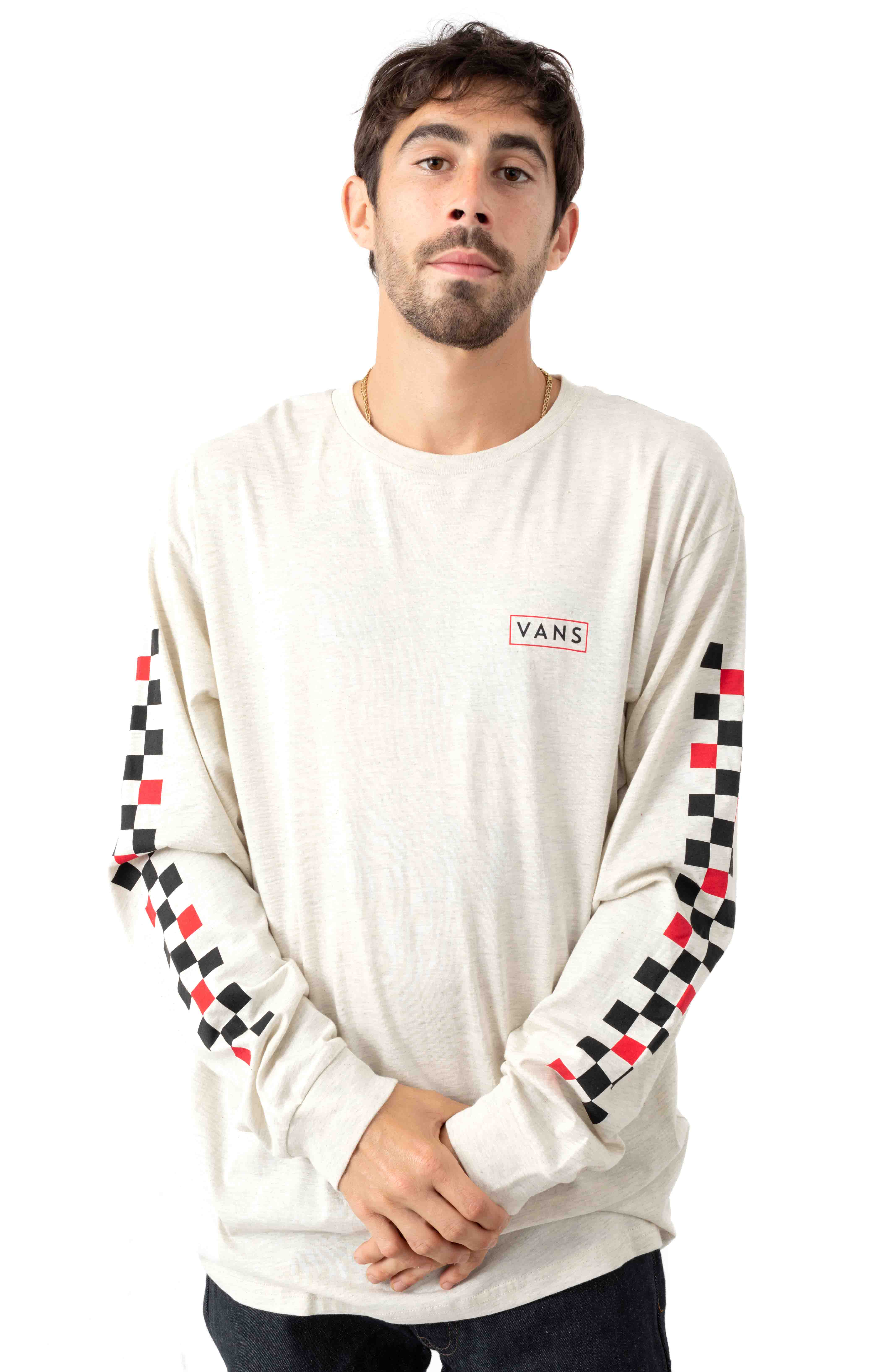 Checkmate L/S Shirt - Ash Heather