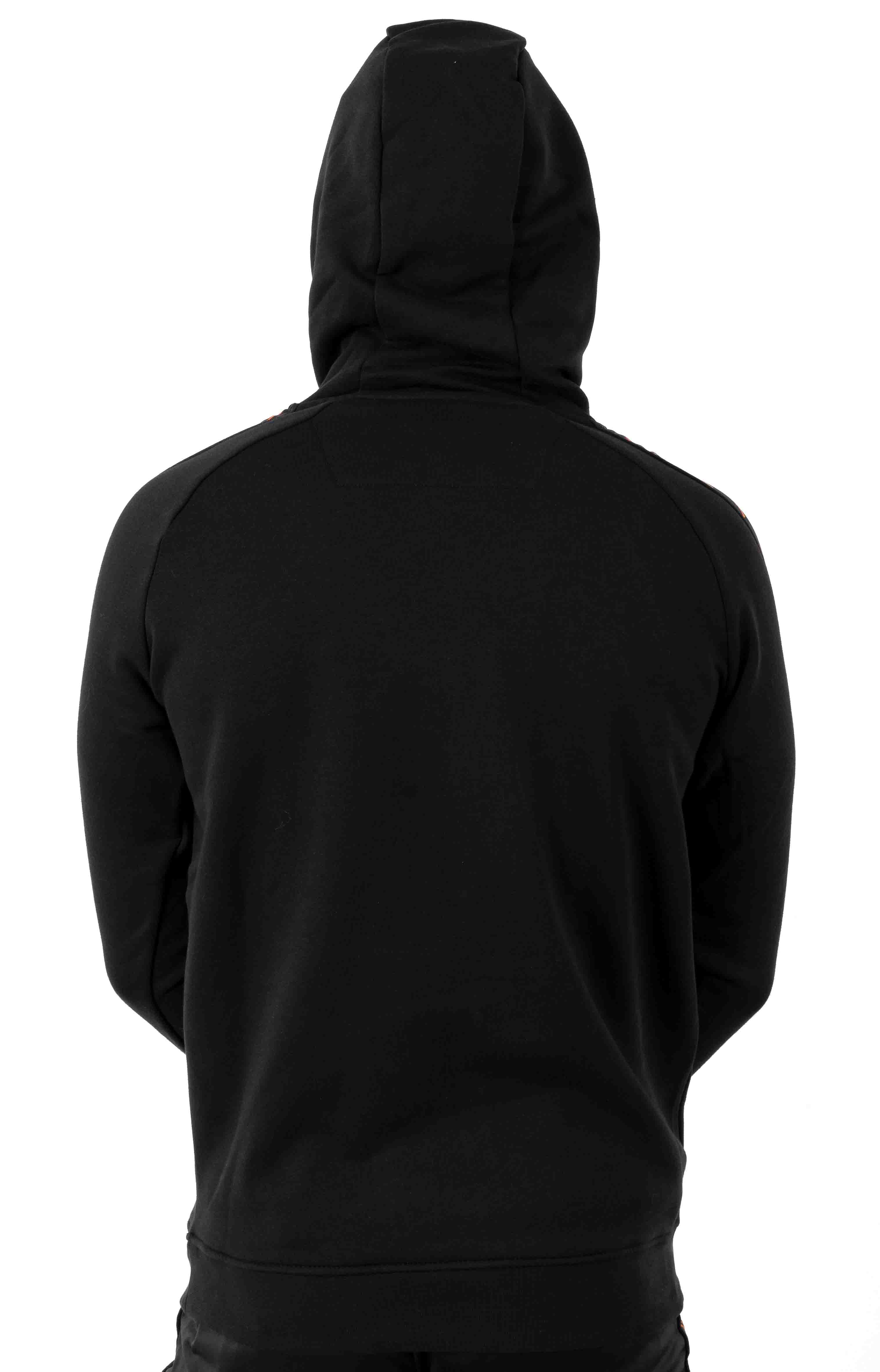 222 Banda Dinto Pullover Hoodie - Black/Apricot 3