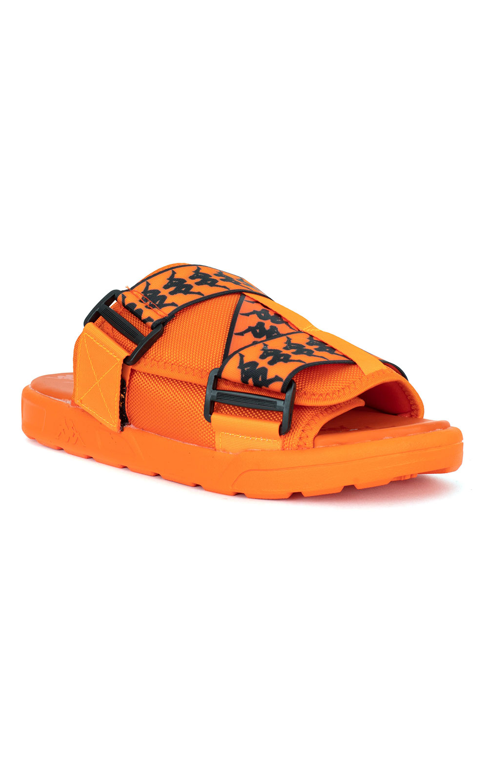 222 Banda Mitel 1 Sandals - Orange/Black