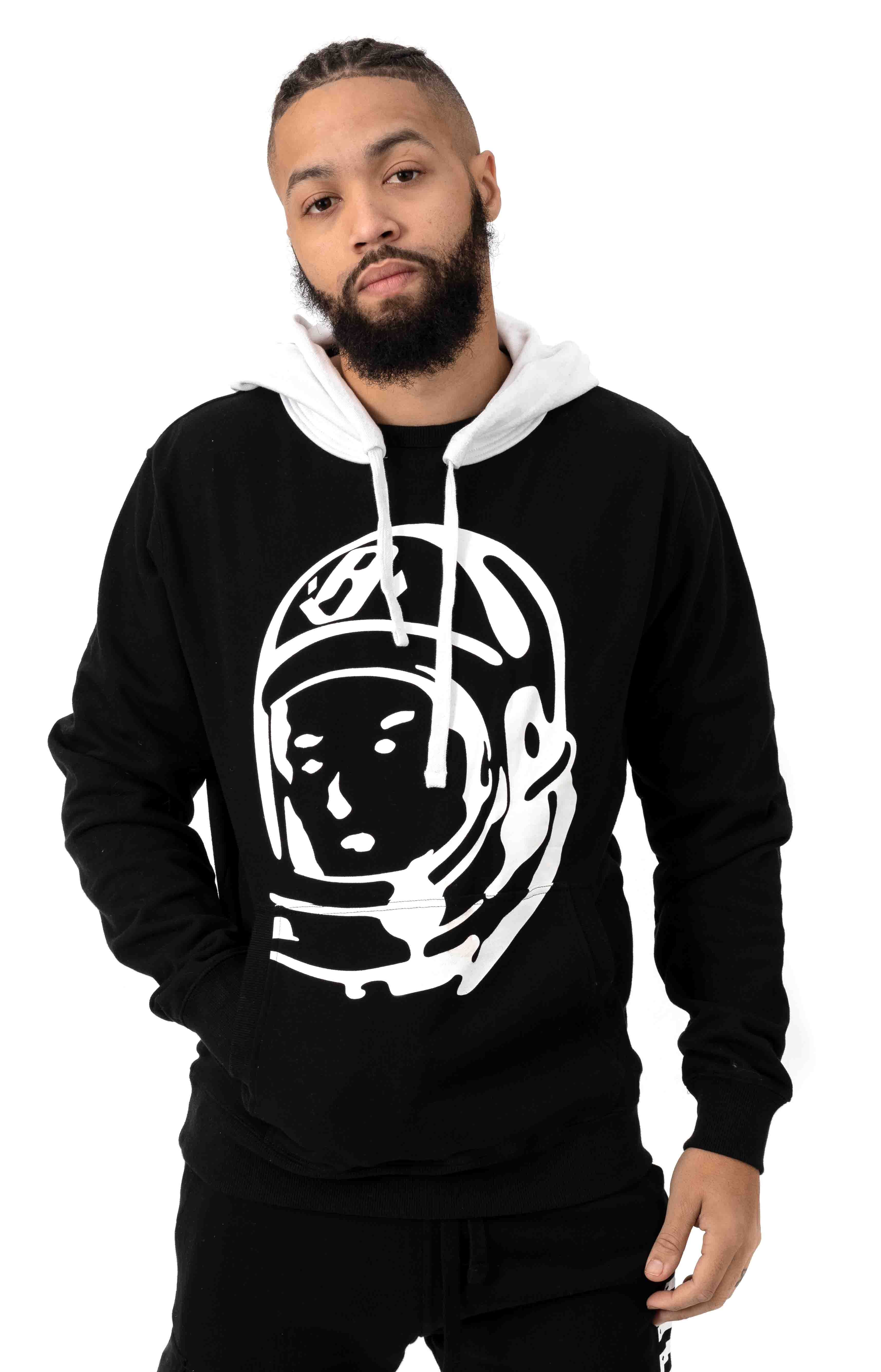 BB Bird of Paradise Pullover Hoodie - Black