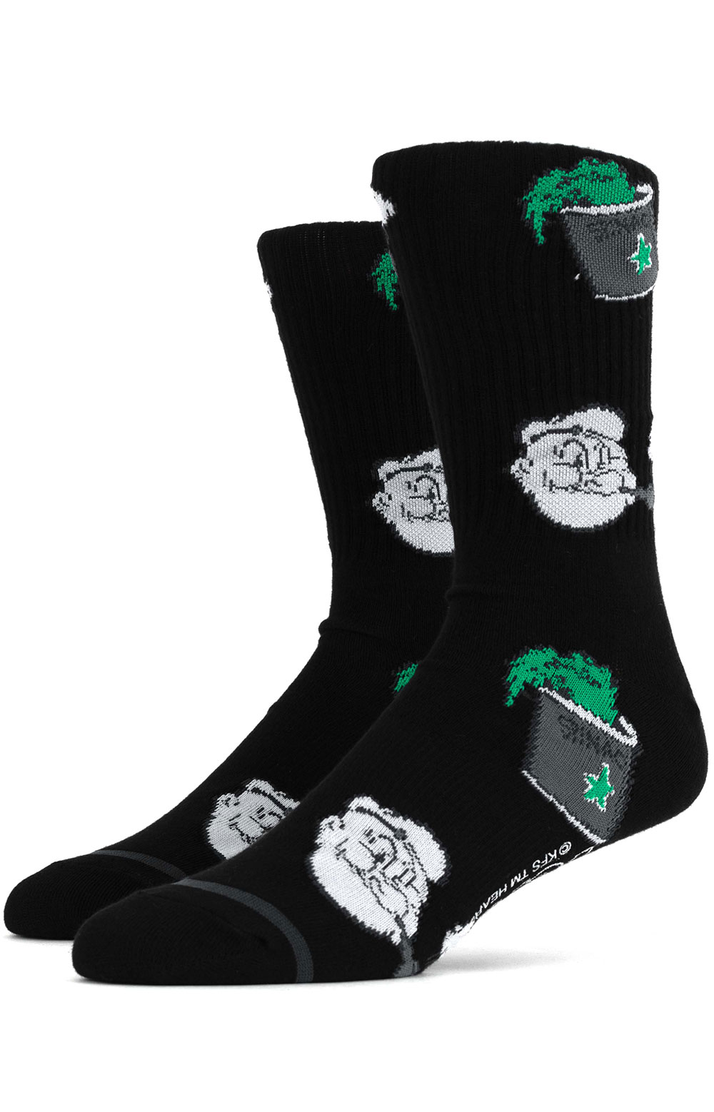 Spinach Sock - Black