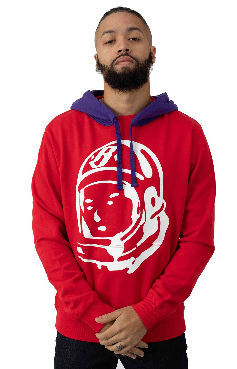 BB Bird of Paradise Pullover Hoodie - True Red
