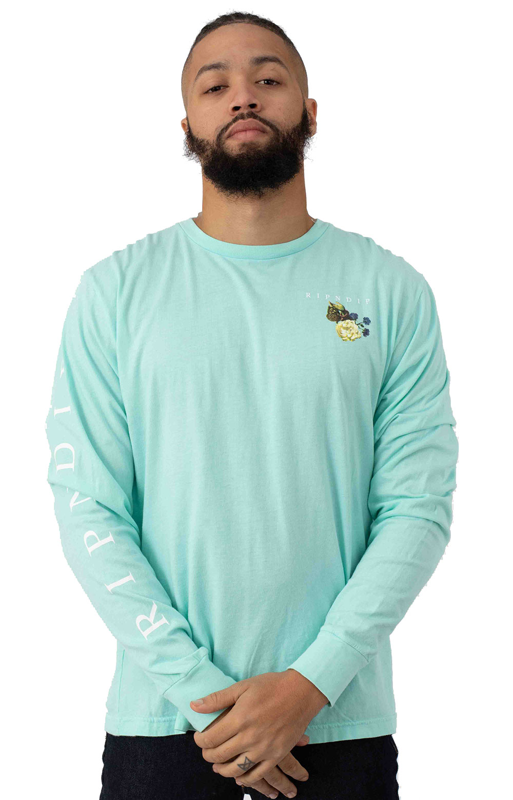 Heavenly Bodies L/S Shirt - Baby Blue 2