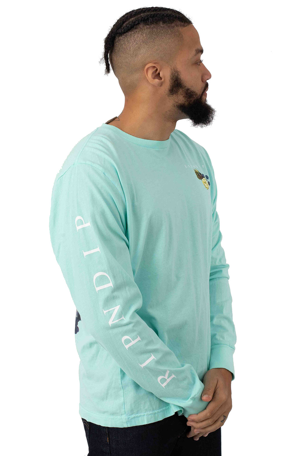Heavenly Bodies L/S Shirt - Baby Blue 3