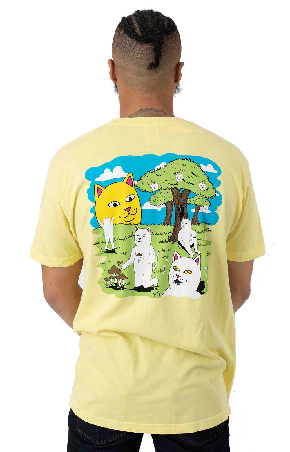Park Day T-Shirt - Light Yellow