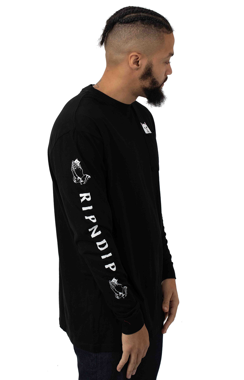 Lord Nermal Pocket L/S Shirt - Black 2