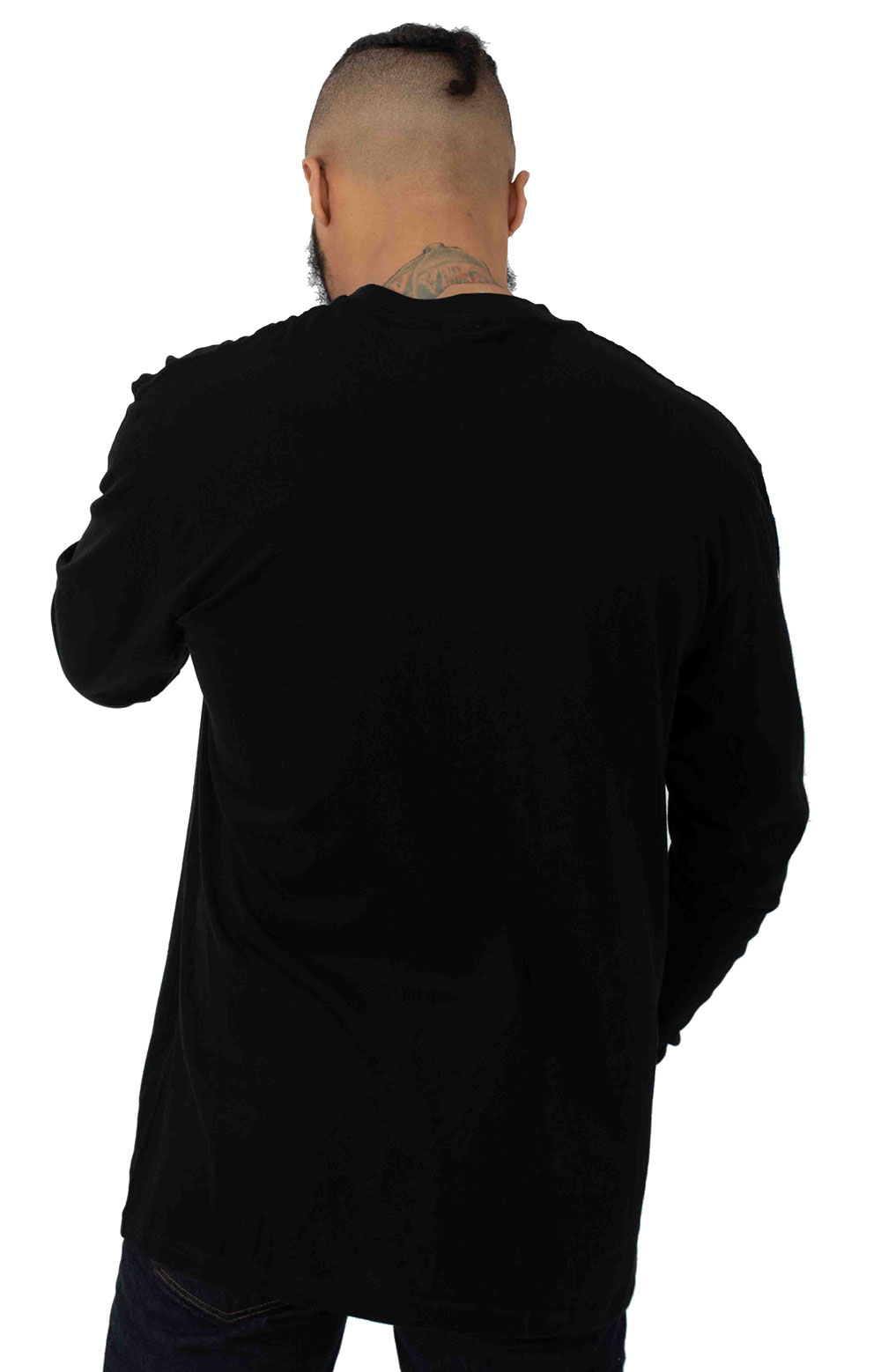 Lord Nermal Pocket L/S Shirt - Black 3