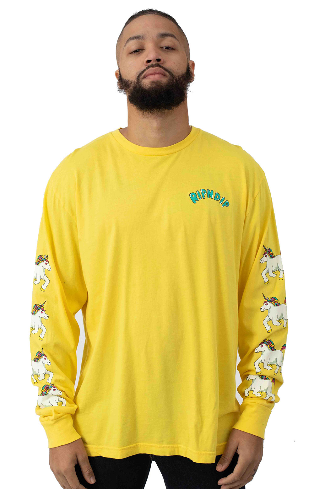 Nermland L/S Shirt - Yellow
