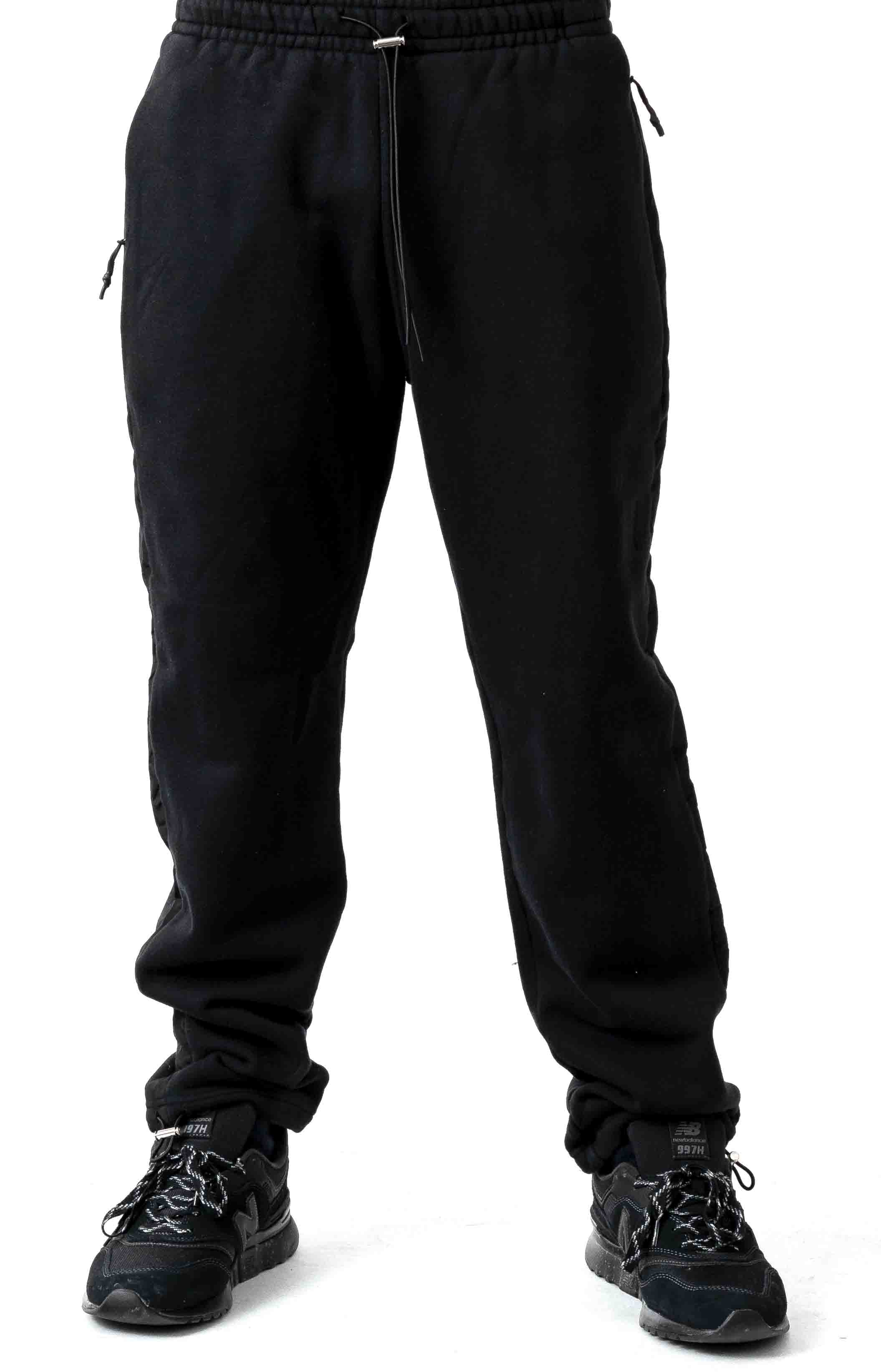 Jumpa Tape Sweat Jogger - Smokey Black 2