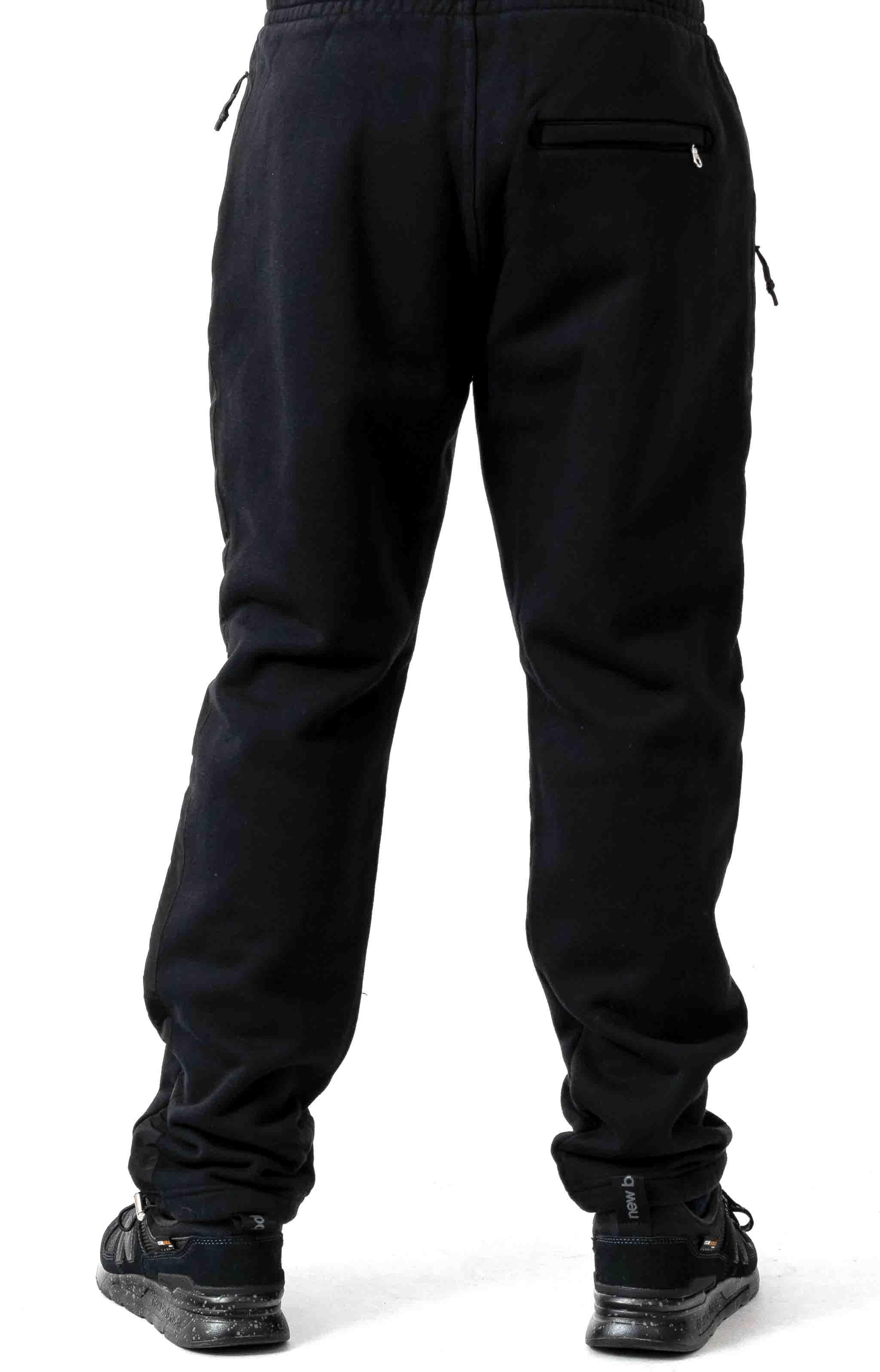 Jumpa Tape Sweat Jogger - Smokey Black 3