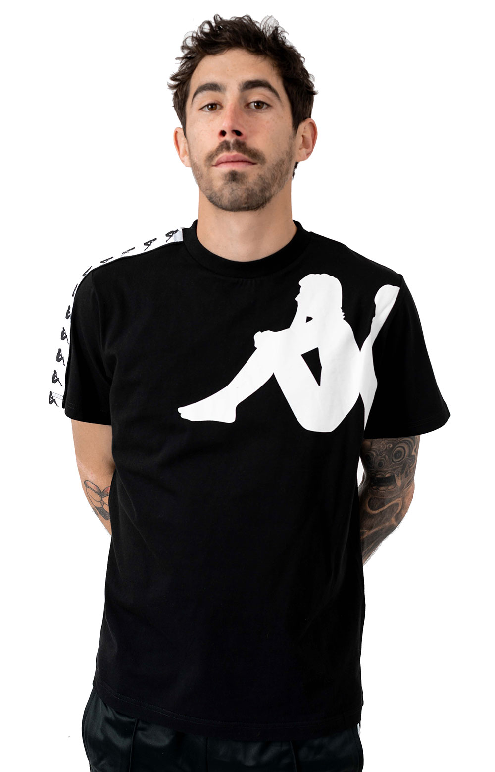 Authentic Buys T-Shirt - Black/White