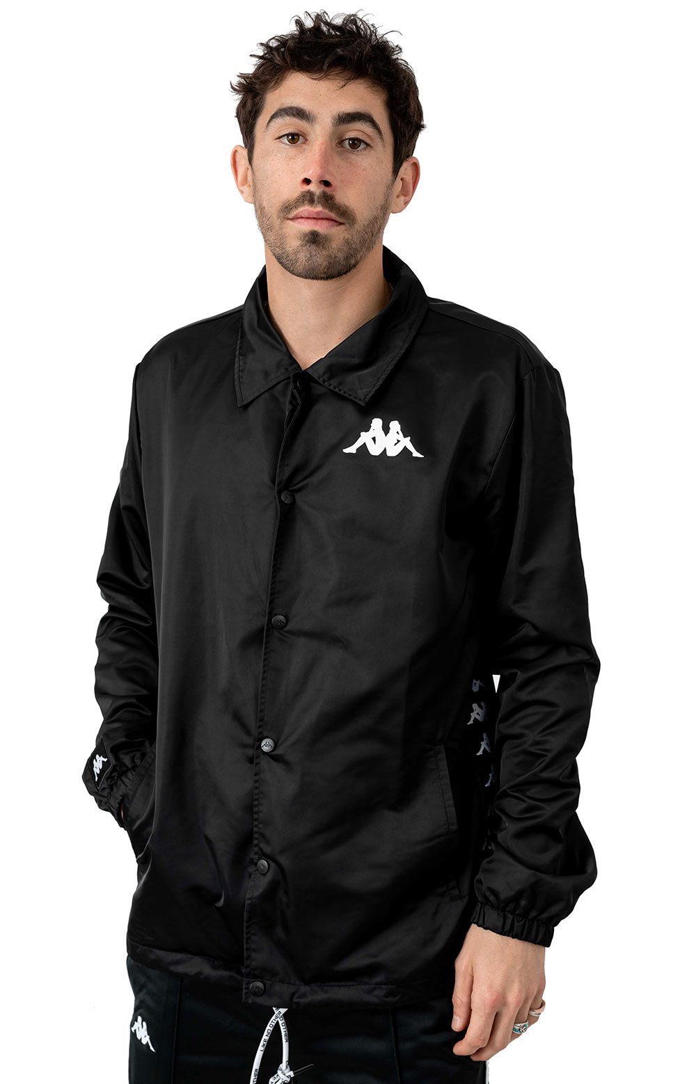 Authentic Batin Jacket - Black/White