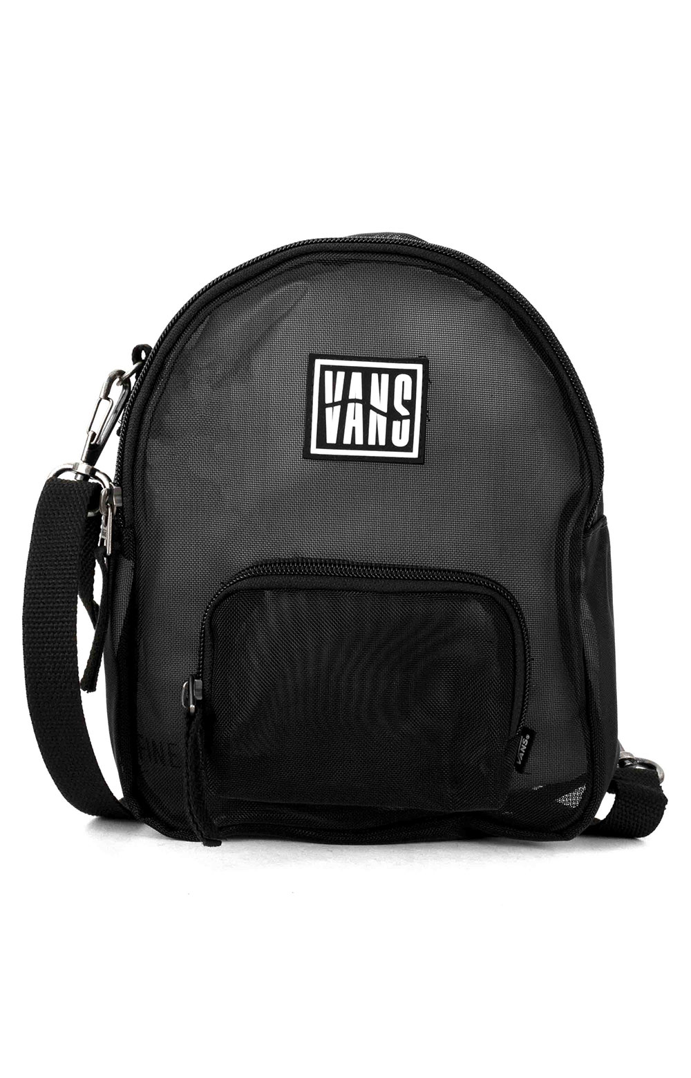 Two Timing Mesh Mini Backpack/Bag - Black