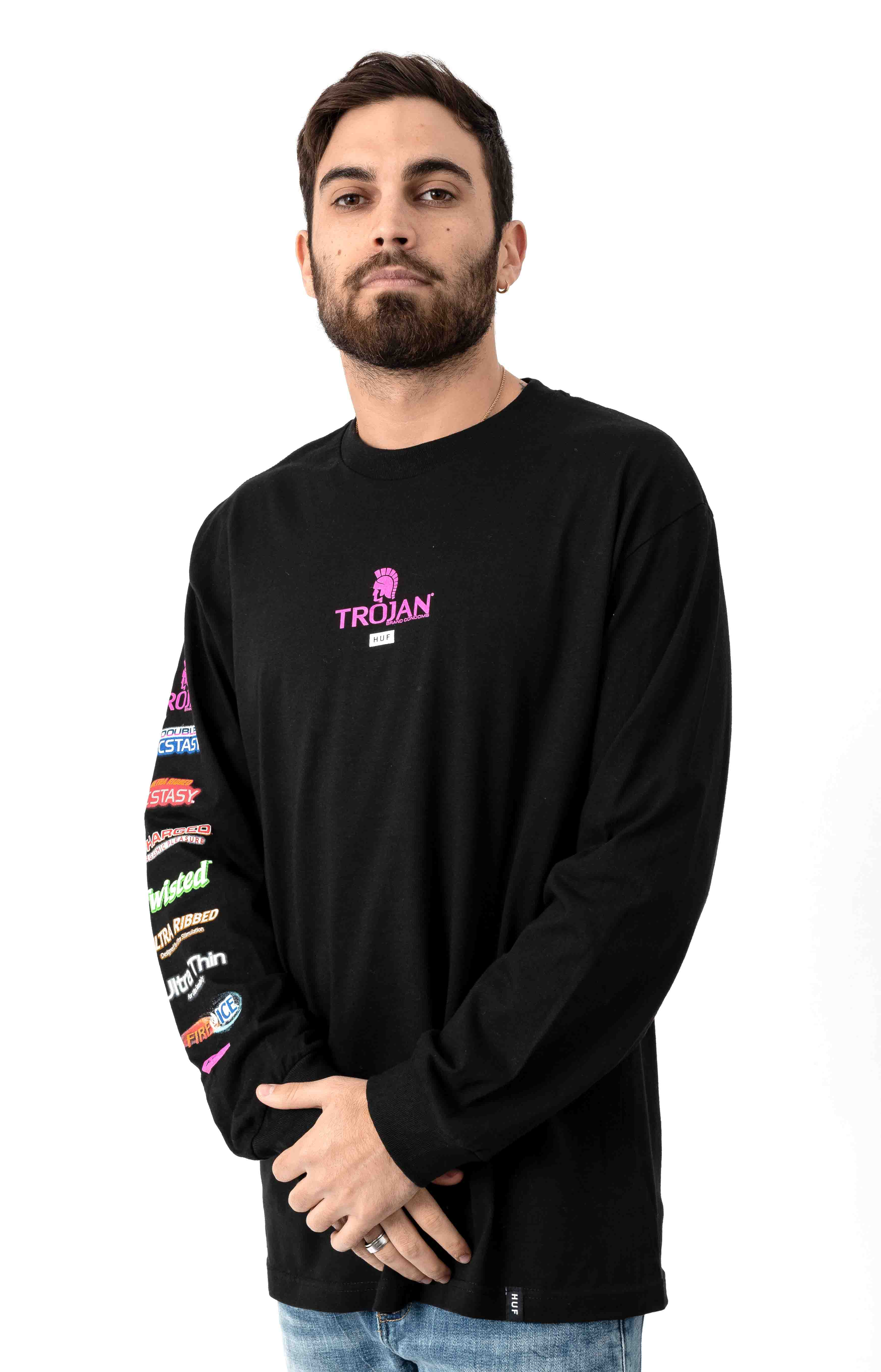 Pleasure Pack L/S Shirt - Black